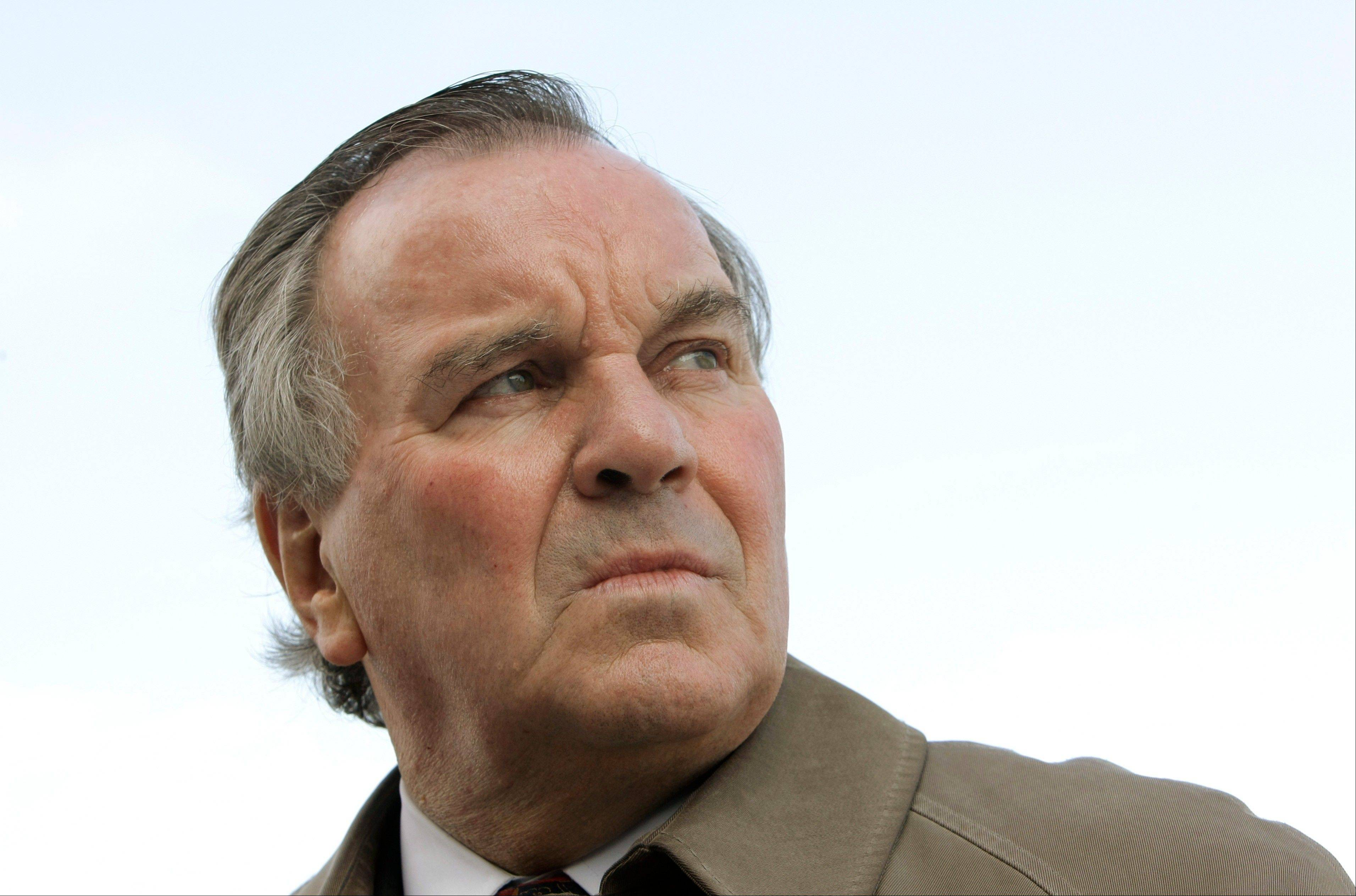 Chicago Mayor Richard Daley was hospitalized Friday in an intensive care unit after feeling ill upon returning to Chicago from a business trip in Arizona. He was to remain hospitalized overnight Sunday.