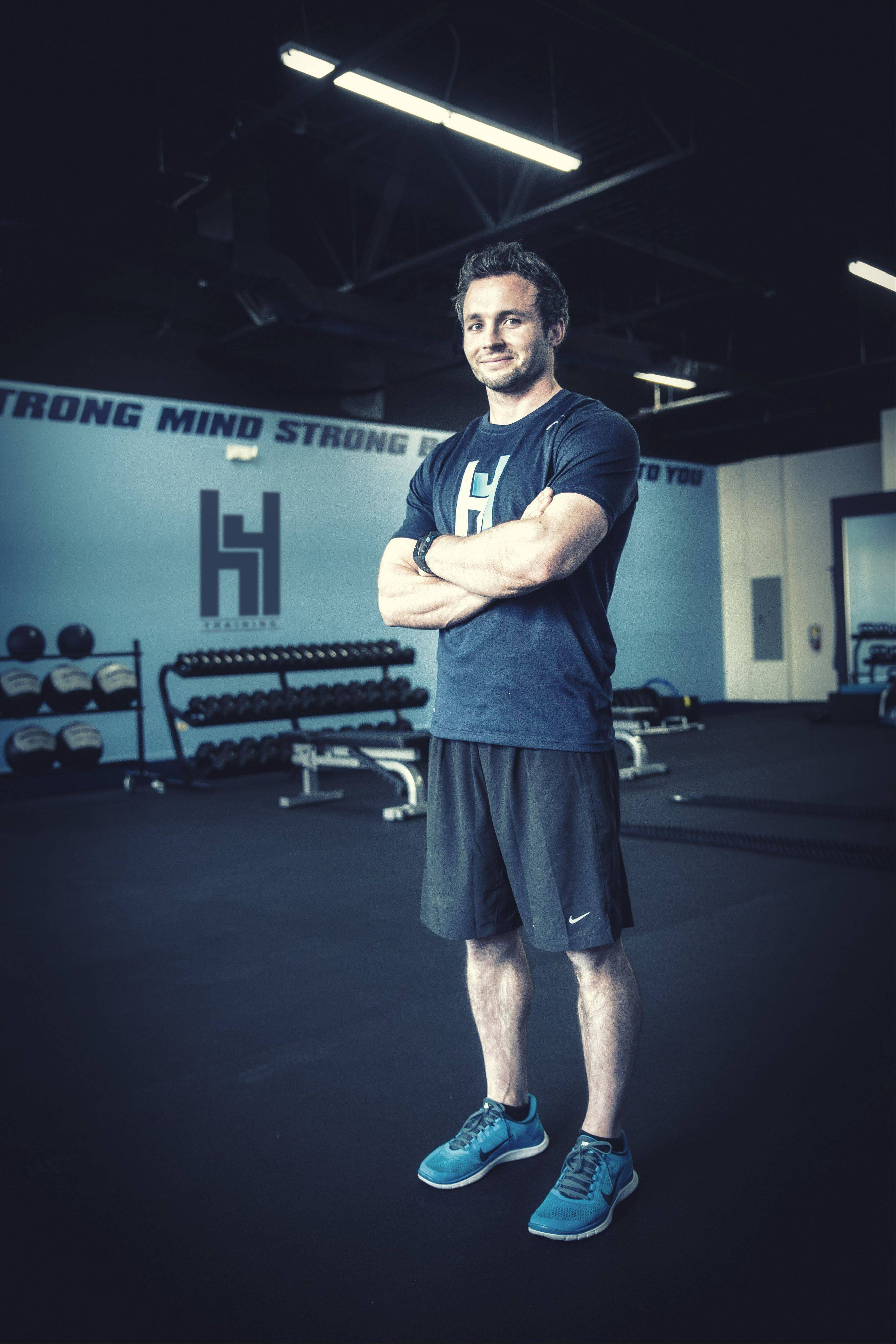 Hank Ebeling is the owner of H4 Training in Wheaton.