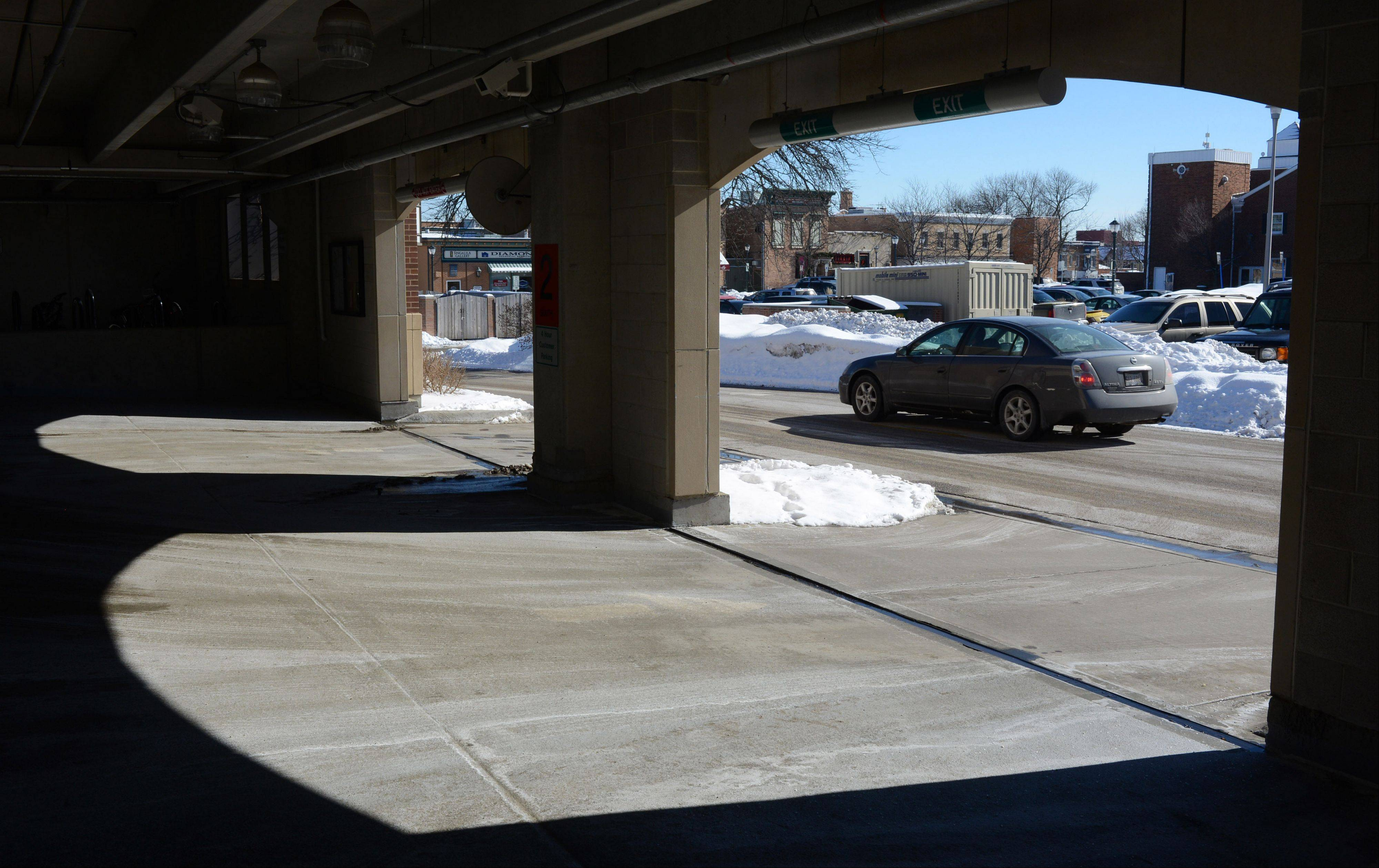 Money from a TIF extension was used to complete parking improvements, including a parking garage on the west side of Milwaukee Avenue to serve downtown Libertyville.