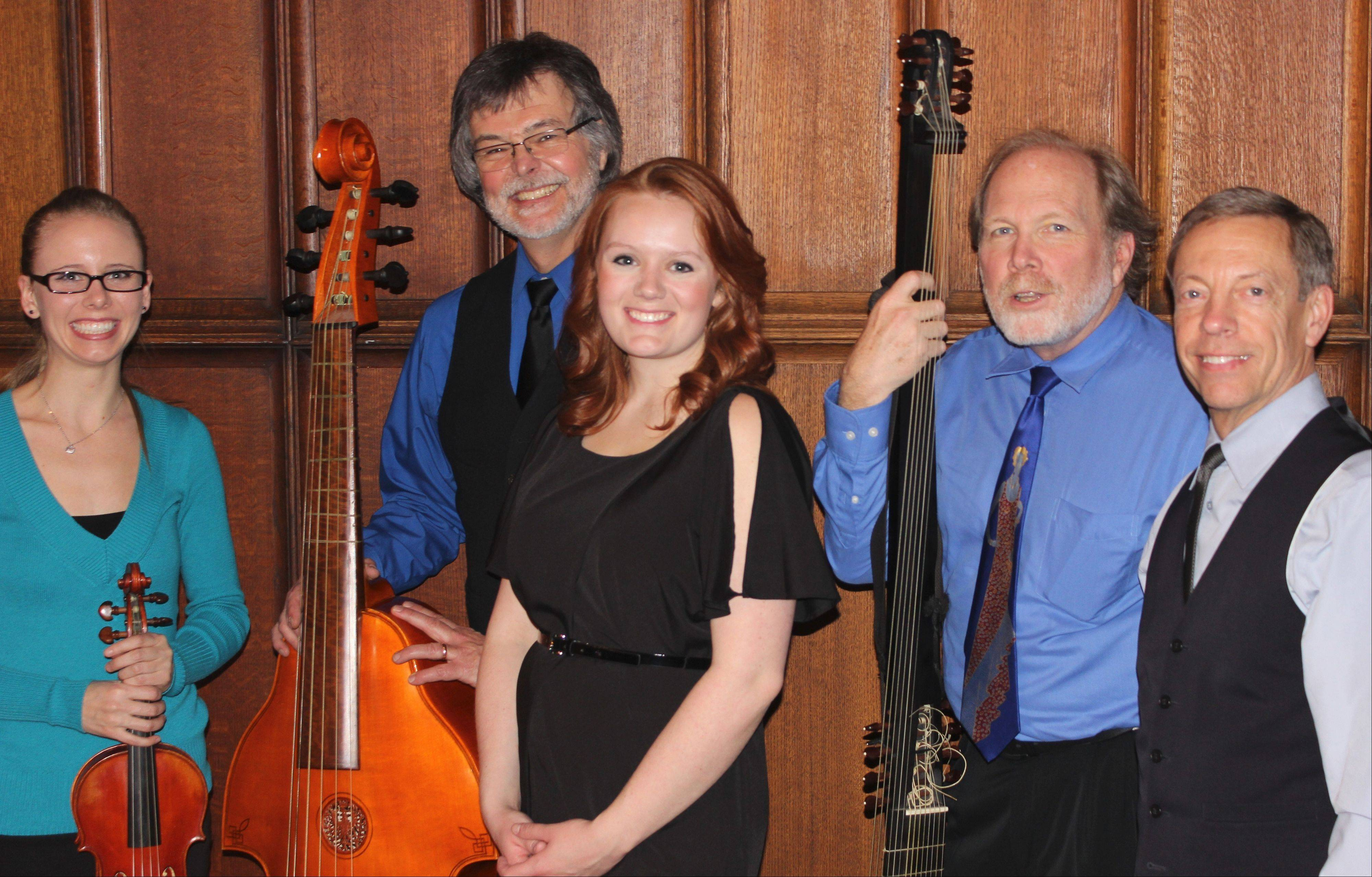 Such Sweete Melodie performs music of the 17th century at 4 p.m. Sunday, Feb. 9, at Byron Colby Barn in Grayslake.