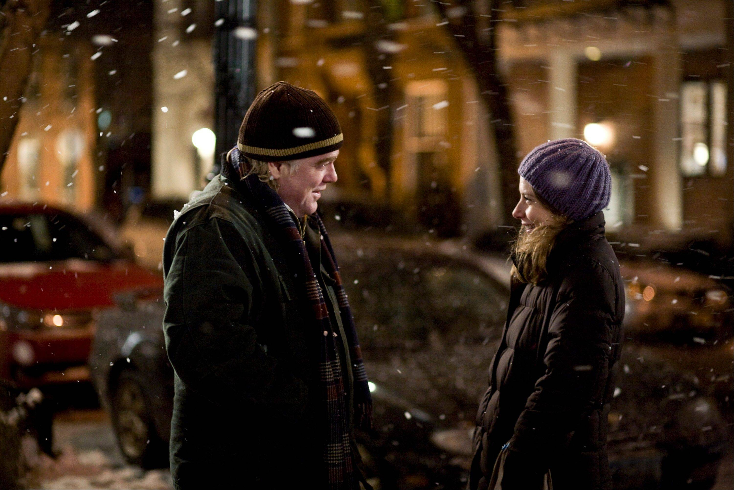 "Philip Seymour Hoffman, left, and Amy Ryan star in ""Jack Goes Boating,"" Hoffman's 2010 directorial debut."