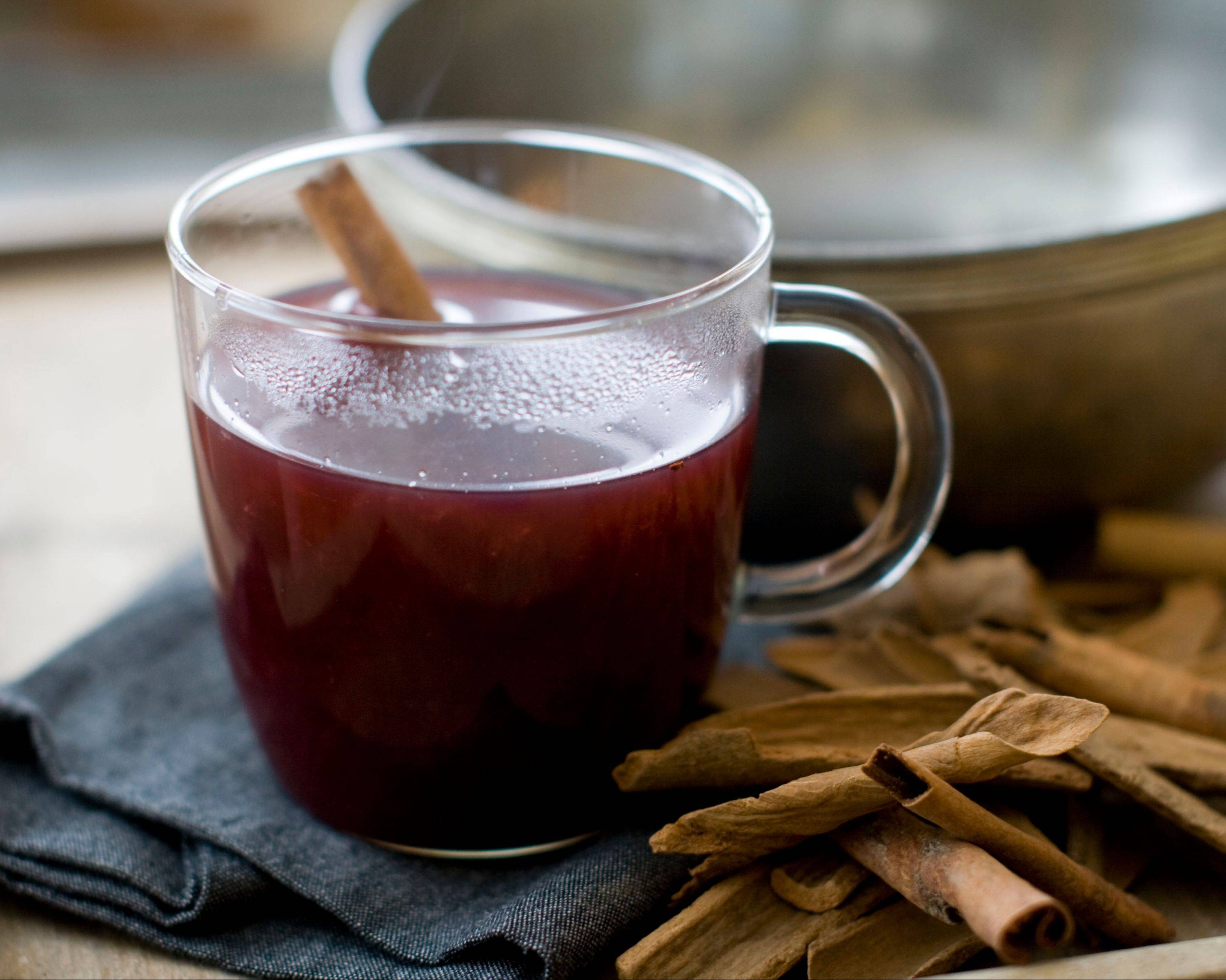 Sip sbiten, a warm Russian mulled honey drink, while you watch American athletes compete in the Sochi games.