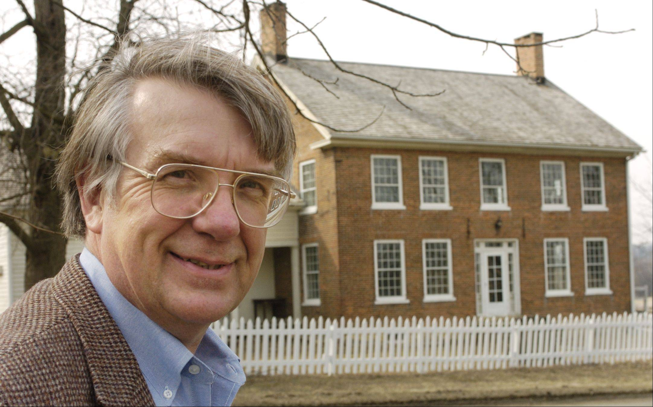 Jerome Johnson, executive director of Garfield Farm Museum, will share his knowledge at the museum's Prairie, Woodlands and Wetlands Managmenet Seminar, set for Saturday, Feb. 22.