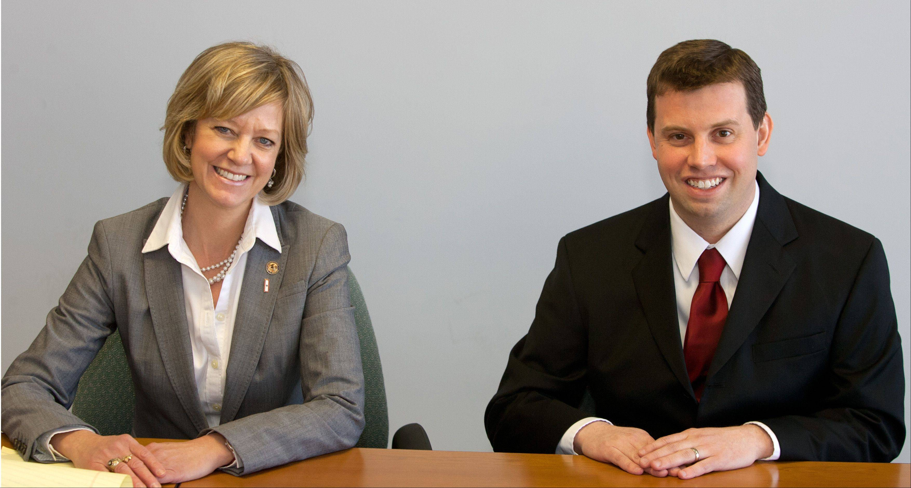 Two Republicans, incumbent Jeanne Ives and challenger Adam Johnson, are seeking their party�s nomination in the March 18 primary for the state�s 42nd District House seat.