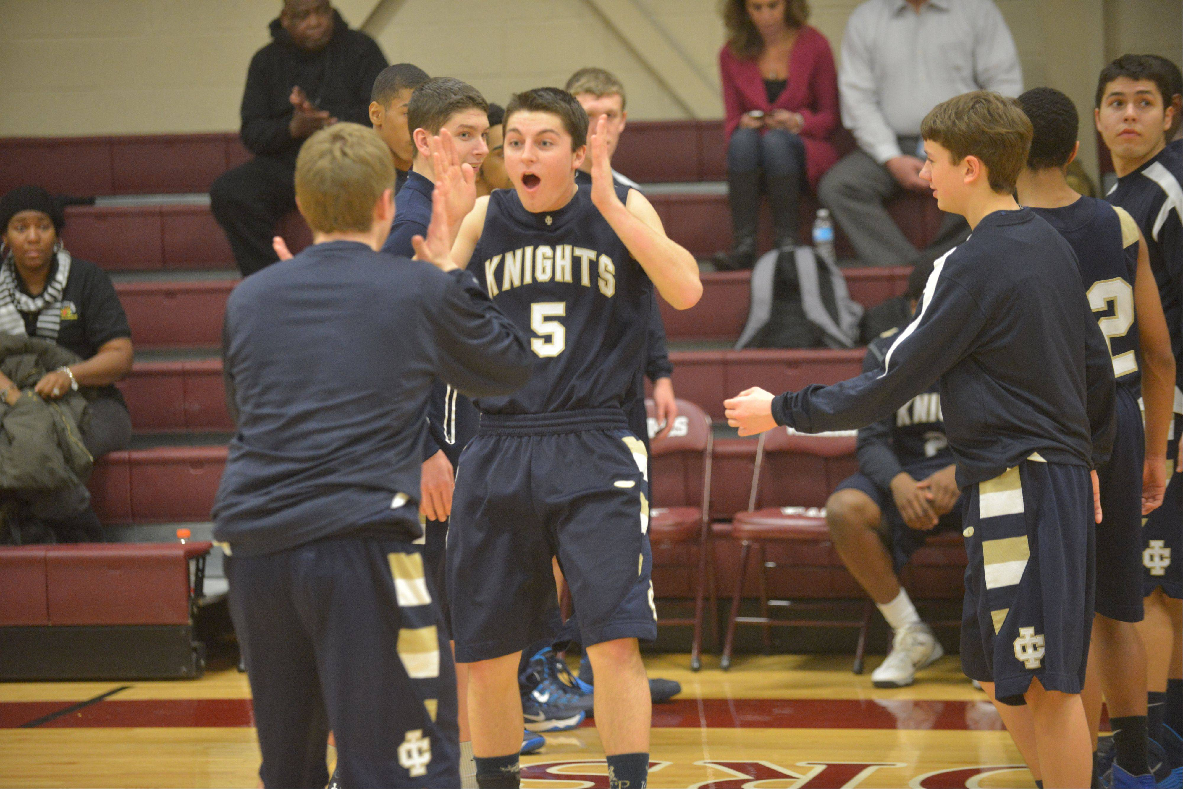 IC Catholic Prep at Wheaton Academy boys basketball