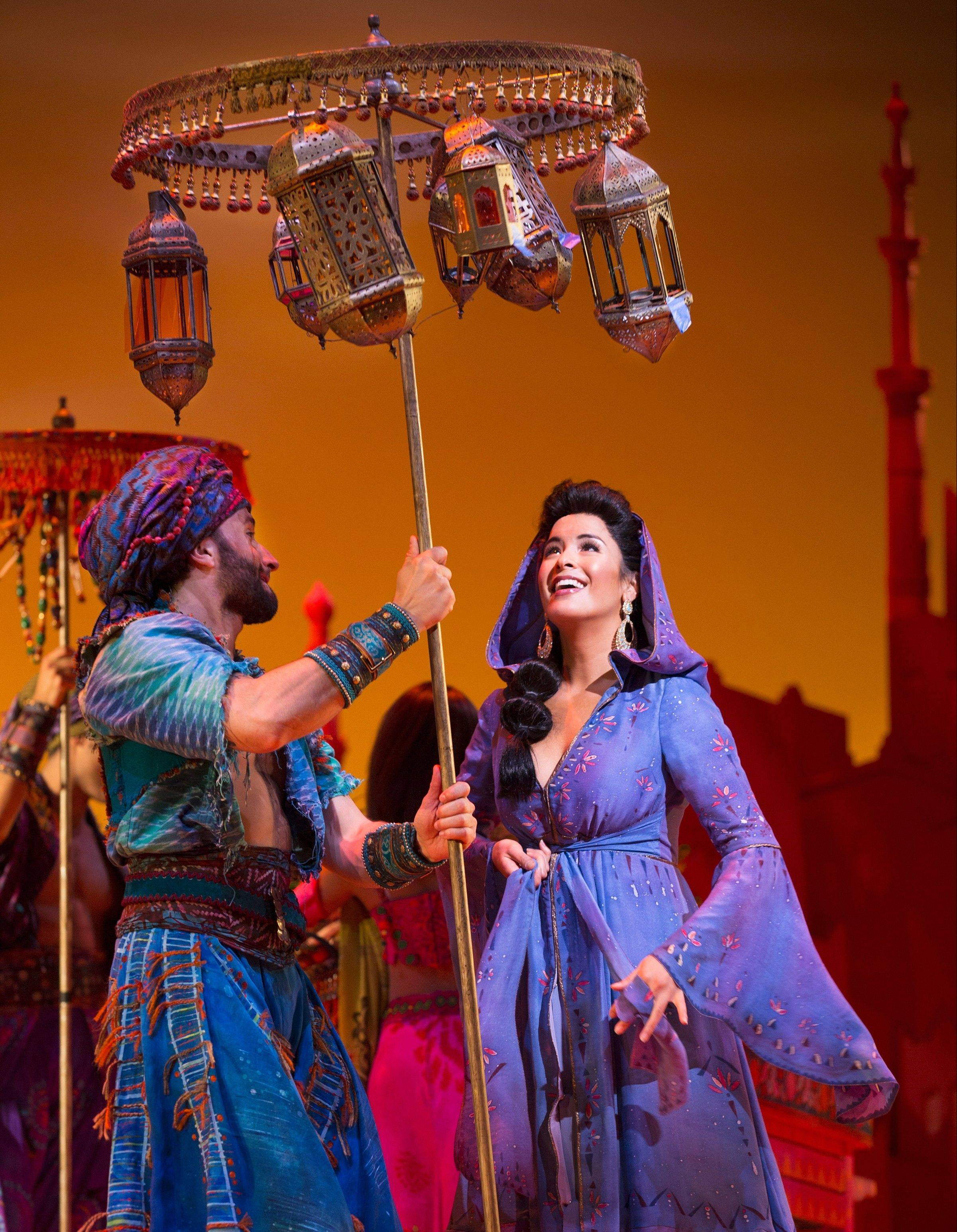 "Elgin native Courtney Reed takes her workshopped Jasmine lead to Broadway when she stars in ""Aladdin"" this month."
