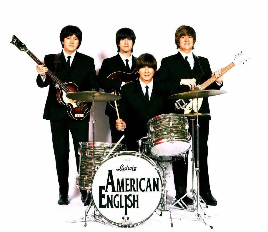 "Beatles tribute band American English will commemorate the 50th anniversary of the Beatles' appearance on ""The Ed Sullivan Show"" at 7:30 p.m. Saturday, Feb. 8, in the ECC Arts Center in Elgin."