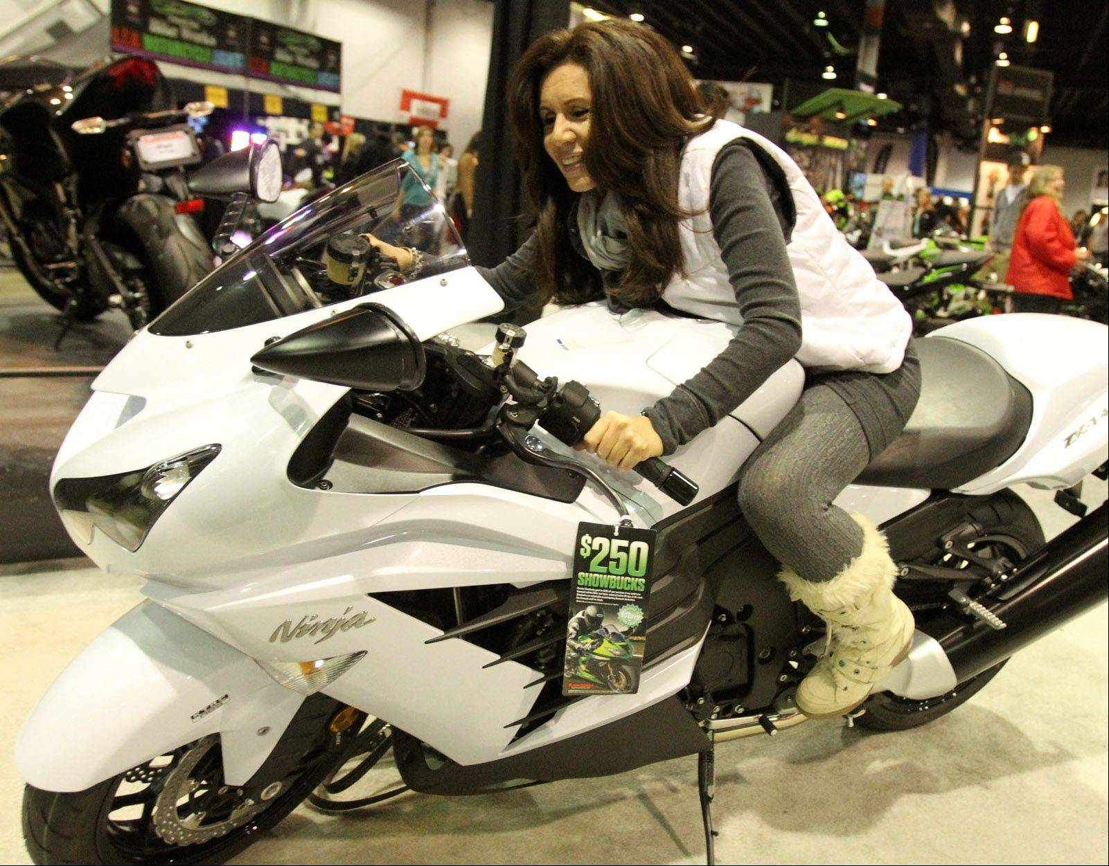 The International Motorcycle Show returns to the Donald E. Stephens Convention Center in Rosemont.