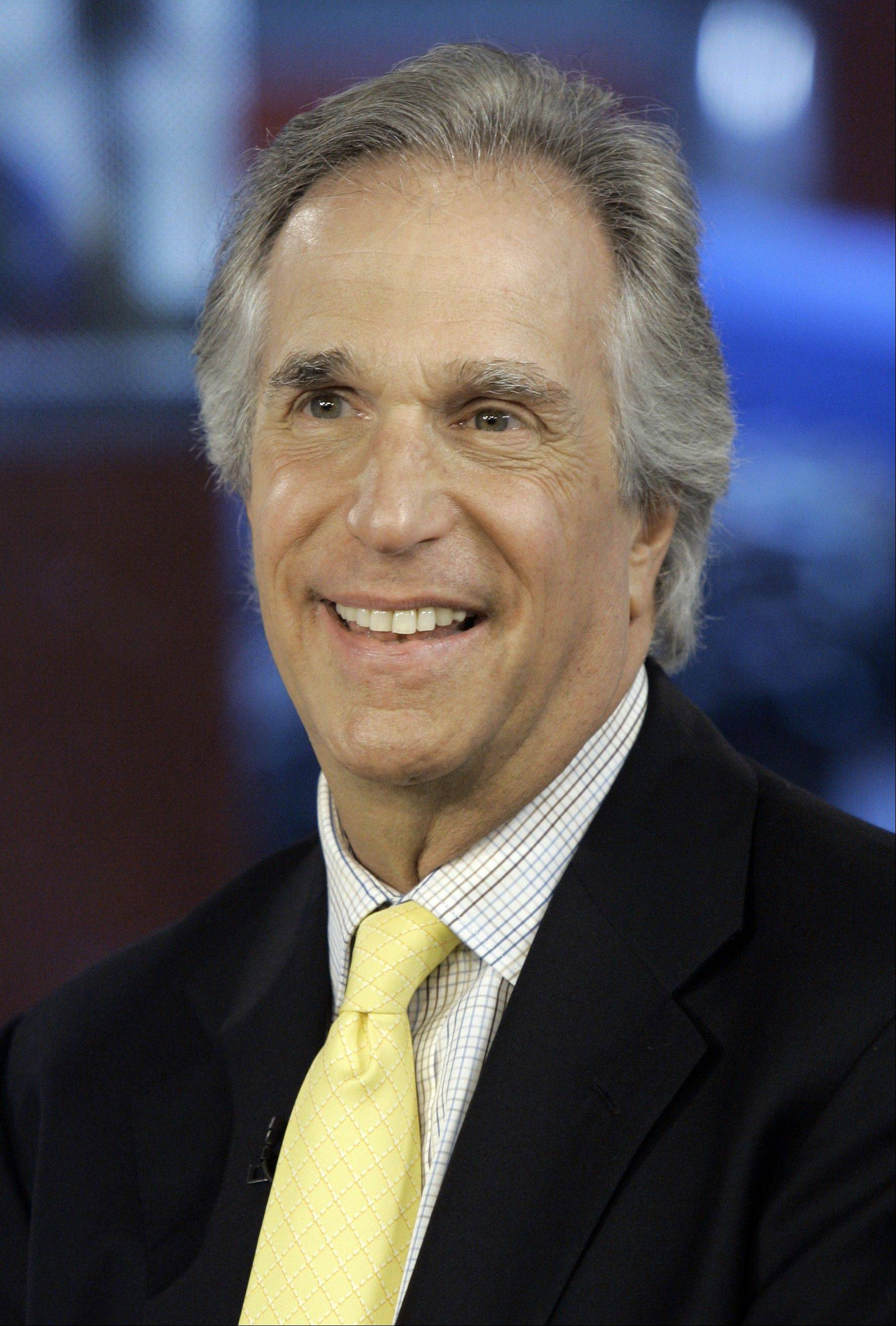 "Actor Henry Winkler (""Happy Days"") appears with co-author Lin Oliver to discuss their ""Here's Hank"" books at 7 p.m. Friday, Feb. 14, at Mill Street School in Naperville."