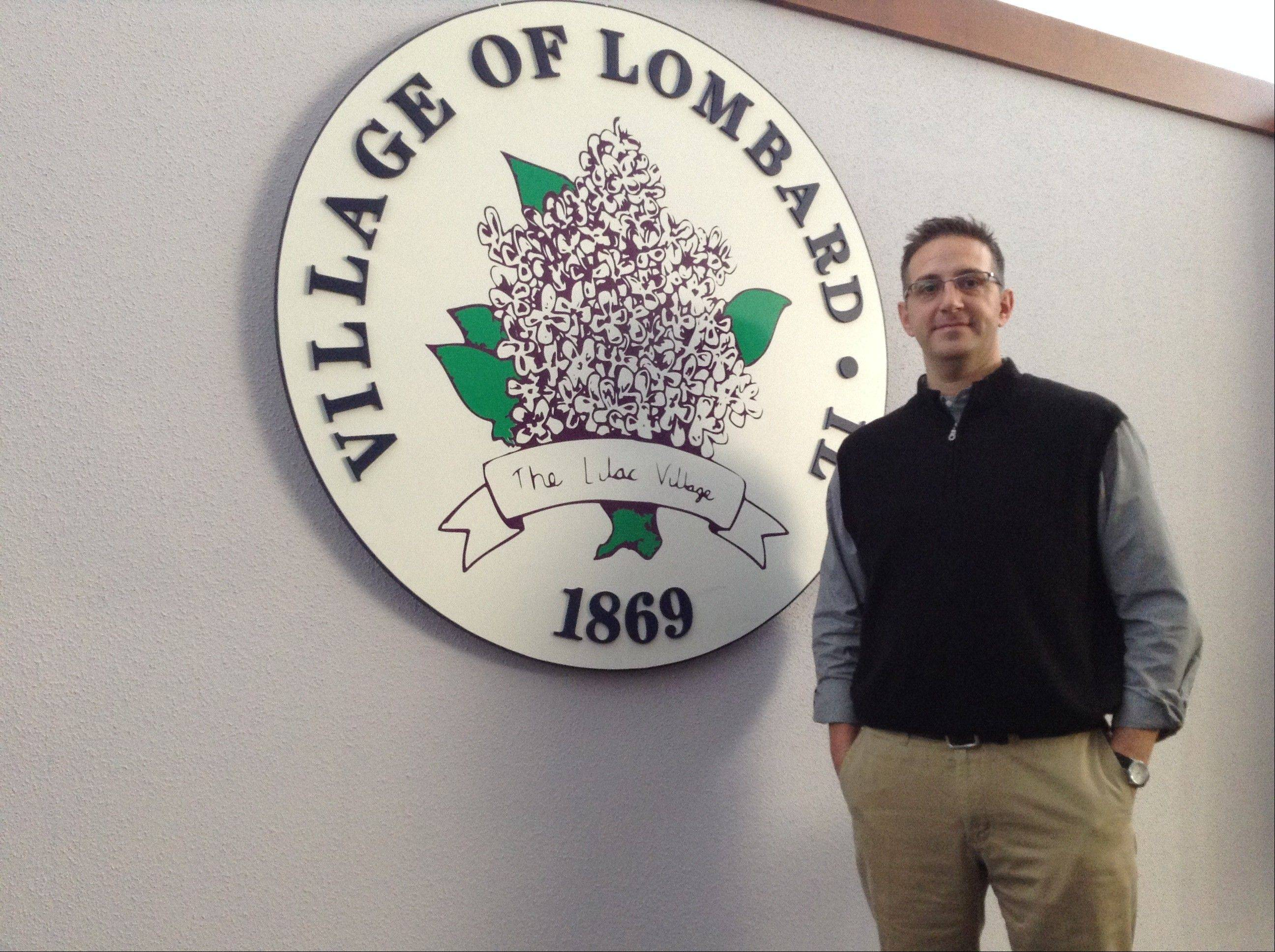 New Lombard Village Manager Scott Niehaus took the reins on Jan. 21 after 10 years as village manager in Tinley Park.