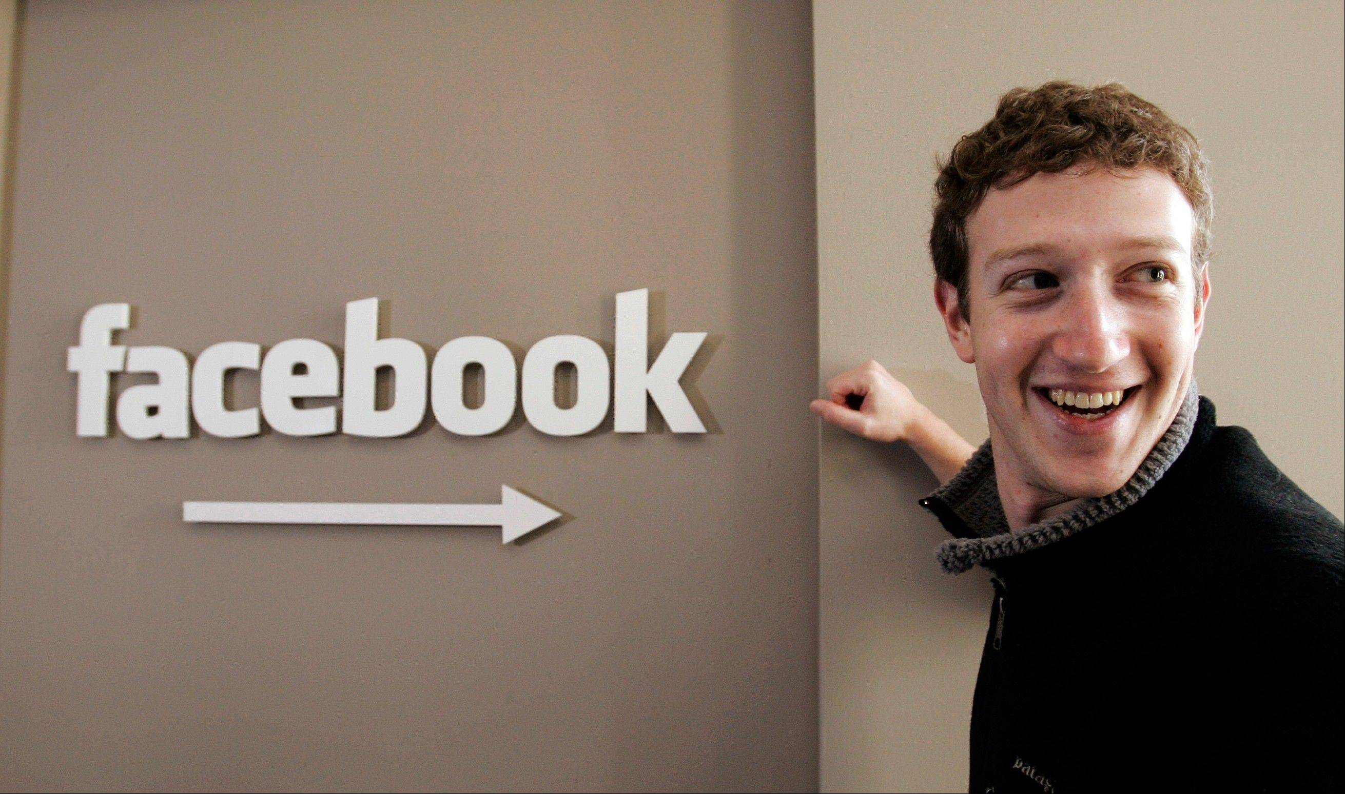Facebook on Tuesday celebrated 10 years since Mark Zuckerberg created a website called Thefacebook.com to let his classmates find their friends online.