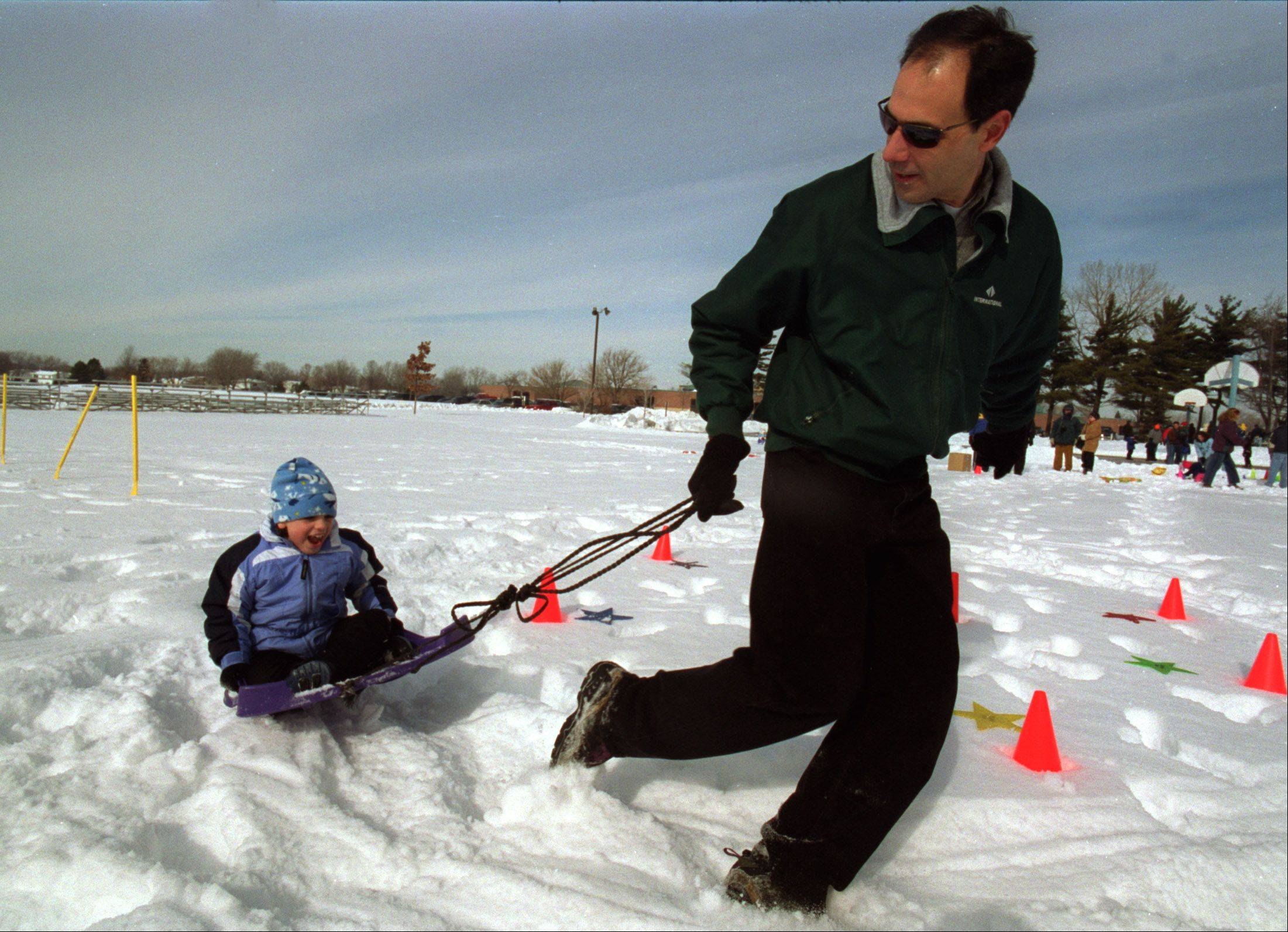 Lombard Park District's Winter Carnival runs 1:30 to 4 p.m. Saturday at Sunset Knoll Recreation Center, 820 S. Finley Road, Lombard. Activities include carnival games, a balloon artist, snow painting, train rides, s'mores, hot cocoa, popcorn, arts and crafts. New this year, take silly or serious photos in front of the green screen and receive a photo to take home. Info: lombardparks.com or (630) 620-7322.