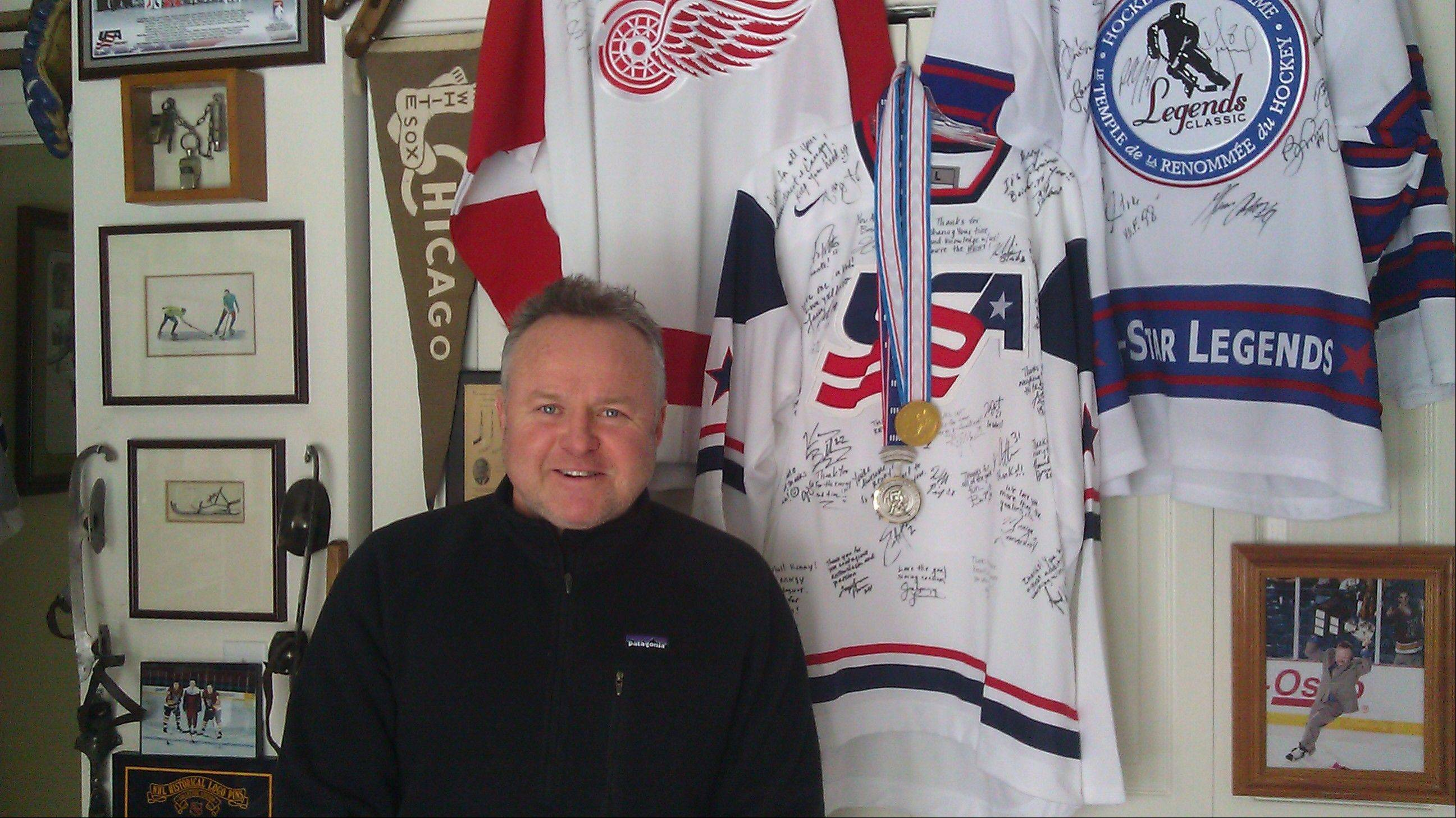Surrounded by a lifetime of hockey memories, Kenny McCudden, the skating and skills coach for the Chicago Wolves, has more memories coming his way as he heads to Sochi to help the U.S. women's Olympic team go for a medal this month.