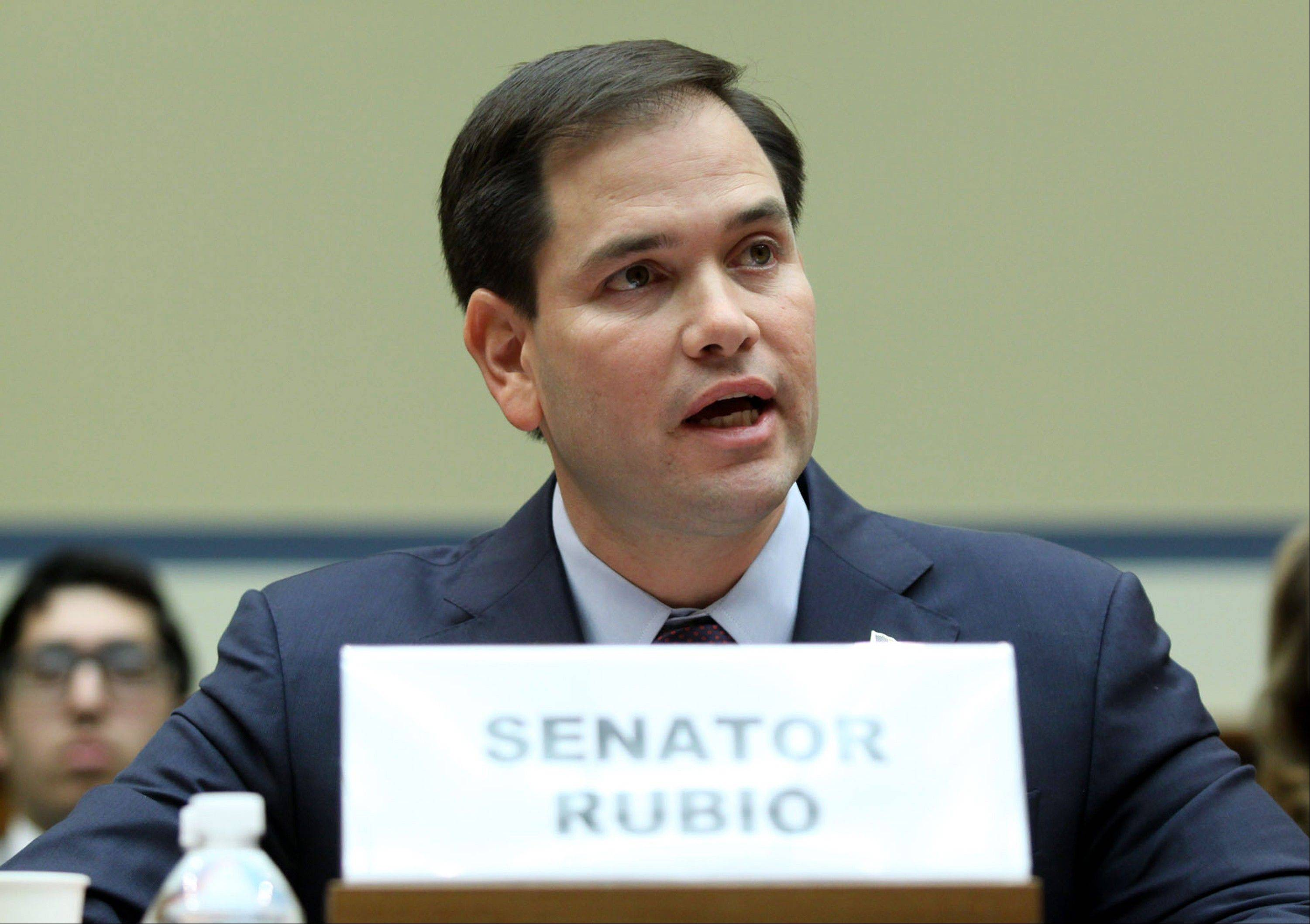 Sen. Marco Rubio, a Florida Republican, lashed out at the Affordable Care Act, saying, �Just yesterday, the Congressional Budget Office found that Obamacare will cost millions of Americans their jobs.�
