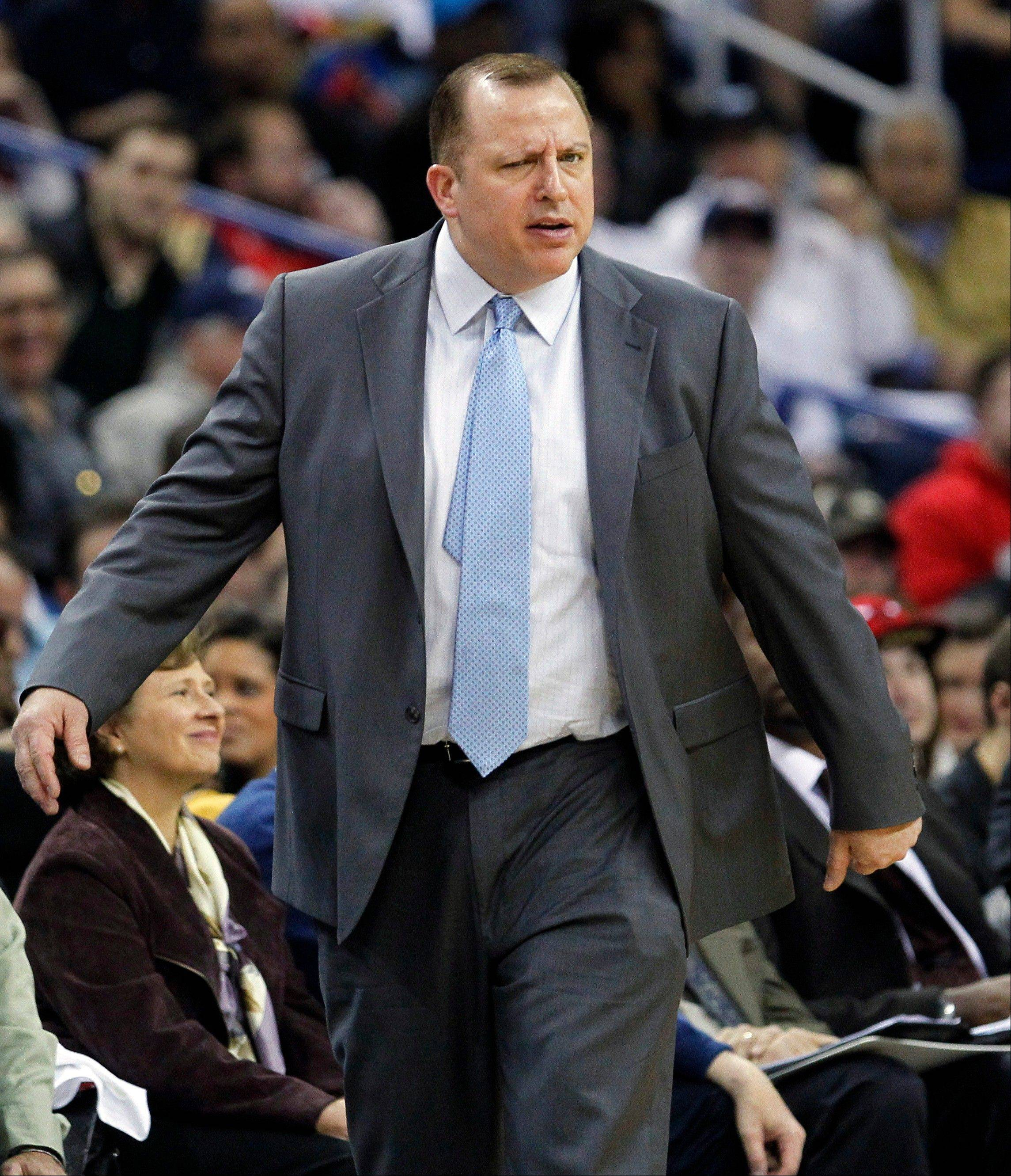 Bulls' Thibodeau keeps it simple, effective