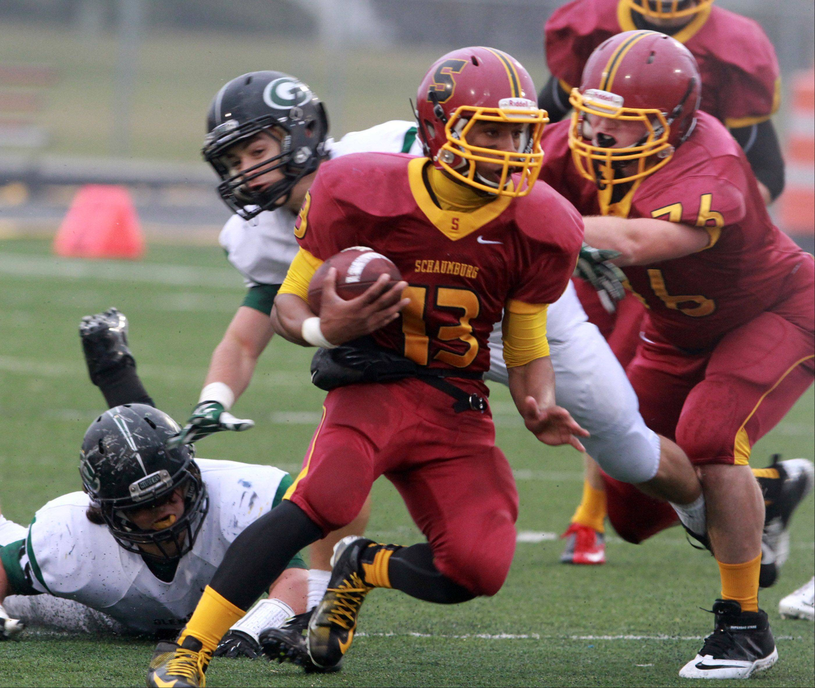 Schaumburg�s Stacey Smith will take his game to Western Illinois, where he�s projected as a wideout and/or return specialist.