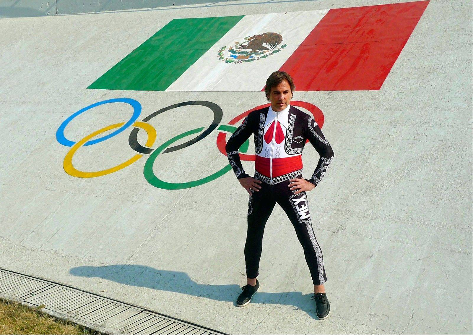Mexico skier Hubertus Von Hohenlohe wearing his Marachi speed suit. Von Hohenlohe certainly won�t be hard to miss on the slopes at the Sochi Games. The 55-year-old German prince will be the one wearing a flamboyant Mariachi speed suit as he competes for Mexico. Born in Mexico City, he�s royalty because of his family�s blood line.