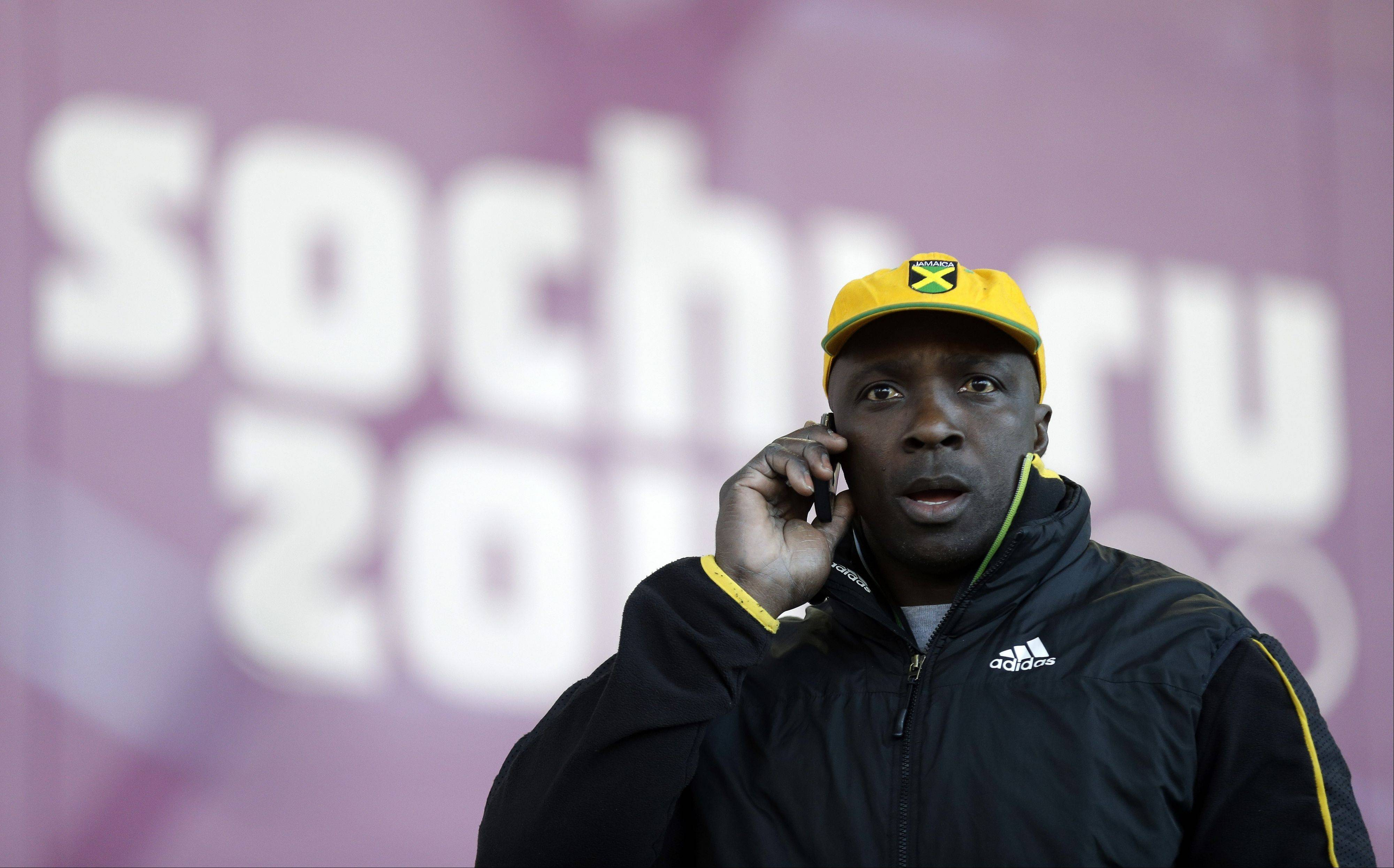 Associated Press Winston Watts, the driver for JAM-1 of Jamaica, and his bobsled teammates were unable to practice because the Jamaican team equipment and luggage did not arrive in Sochi.