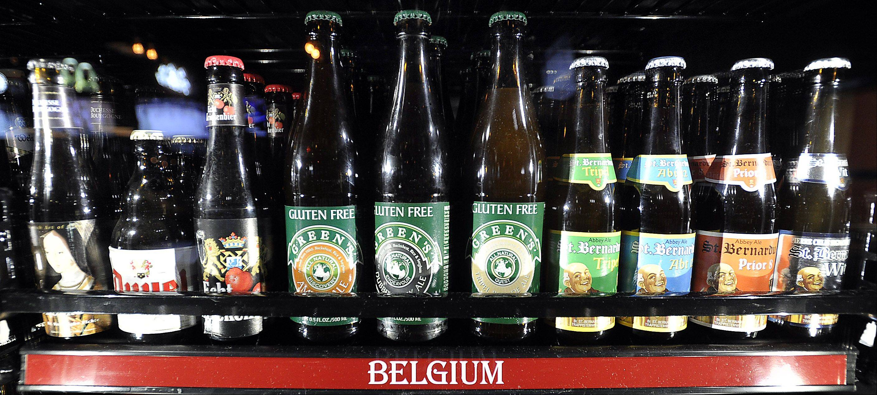 The Beer Market in Schaumburg features beer from all over the world.