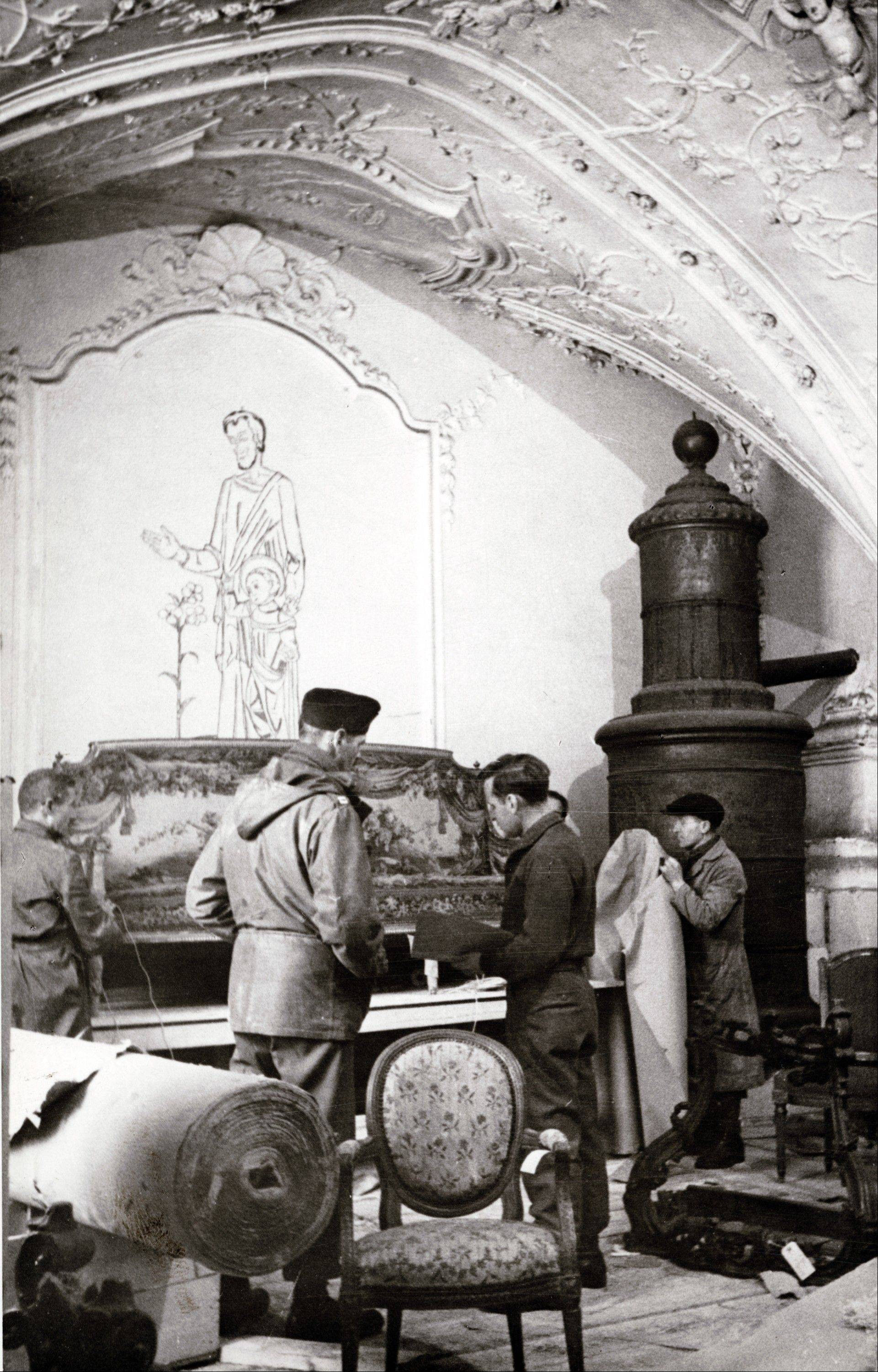 Art was rescued from the Buxheim Monastery in Bavaria. Looted art from World War II is going on display in Washington.