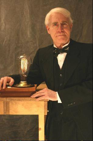 Actor R.J. Lindsey will portray Thomas Edison at 2 p.m. Saturday, Feb. 8, at the Grayslake Heritage Center & Museum, 164 Hawley St., Grayslake.