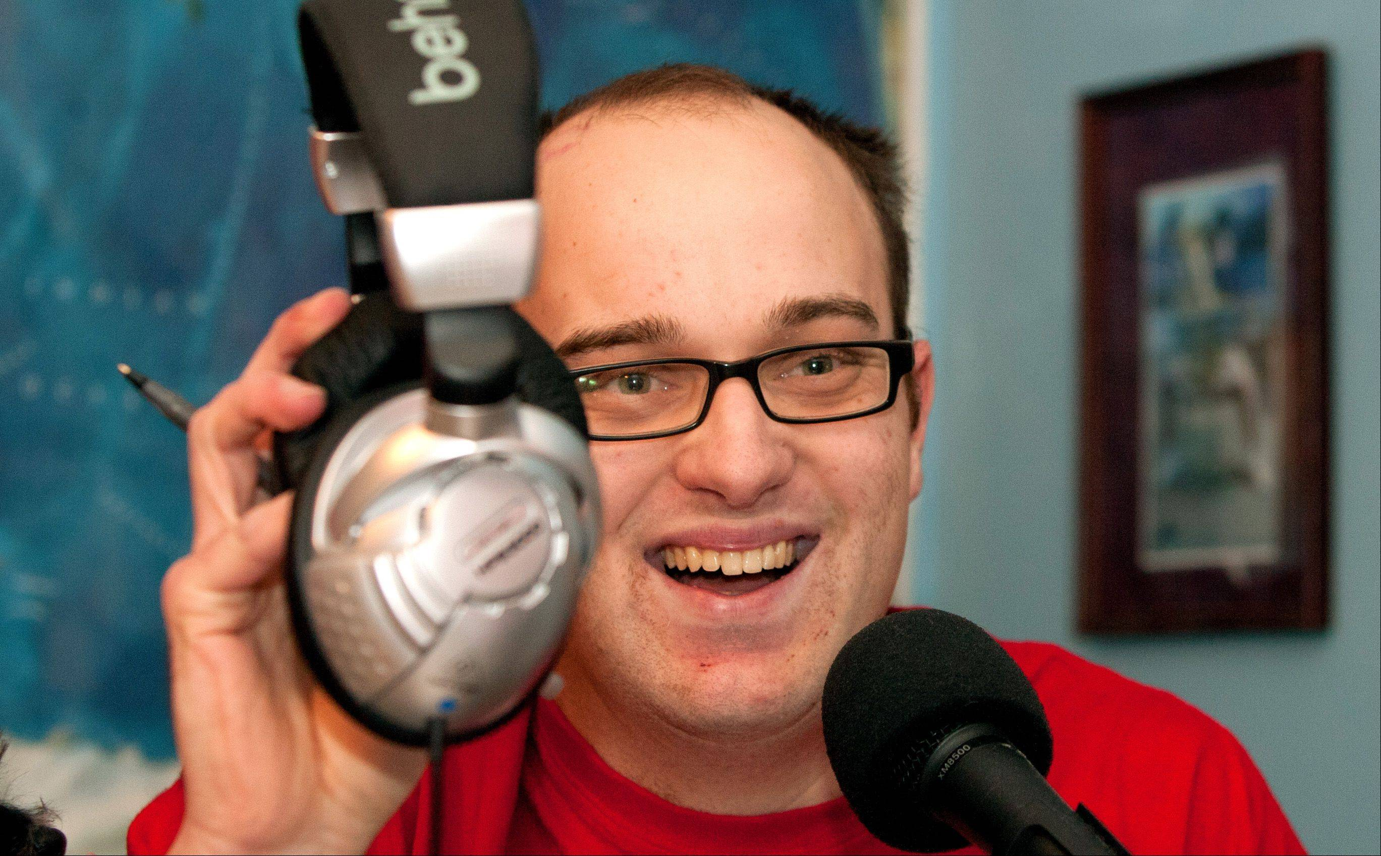 Daniel Smrokowski, 25, of Westmont is the founder and executive director of Special Chronicles, which aims to give respect and a voice to people with special needs. He podcasts disability stories from his insider's perspective.