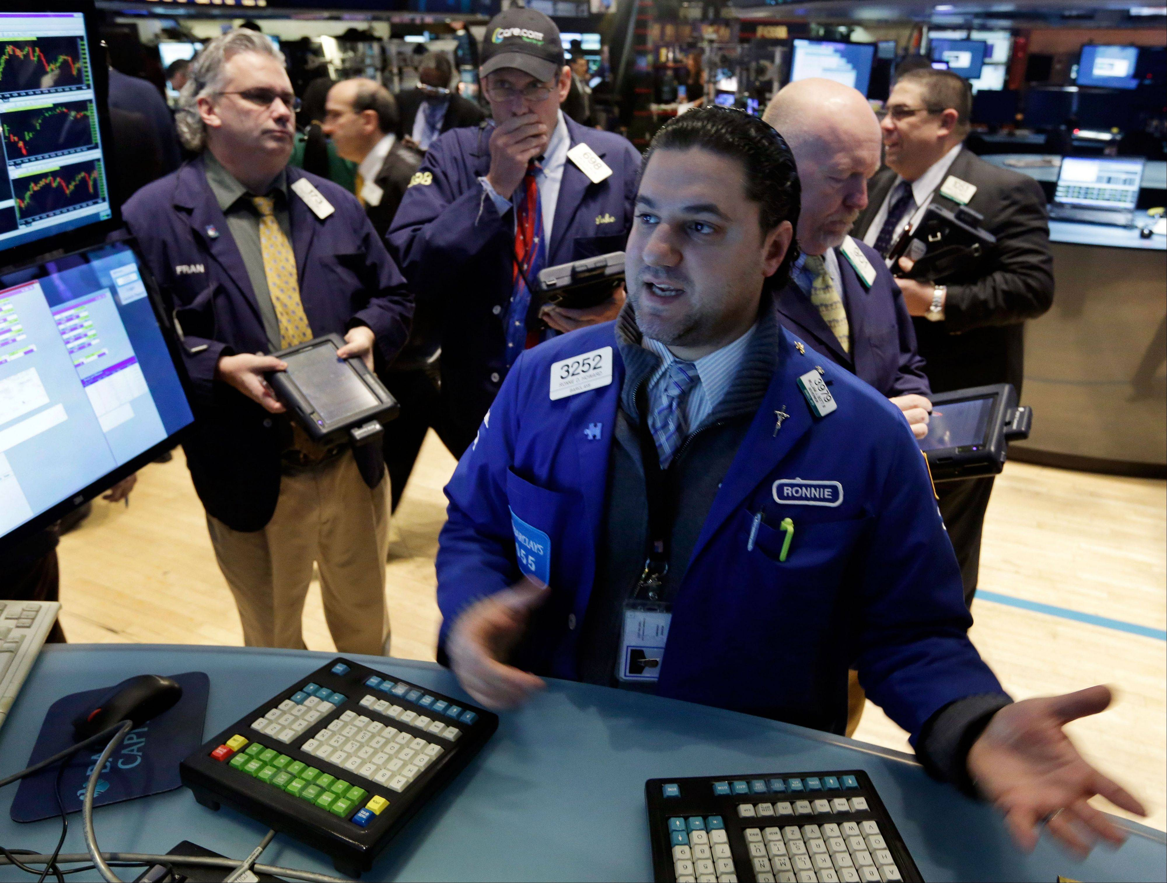 Stocks rose Thursday, sending benchmark indexes to their best gains this year, as claims for unemployment benefits fell and earnings from Walt Disney Co. to Akamai Technologies Inc. surpassed estimates.