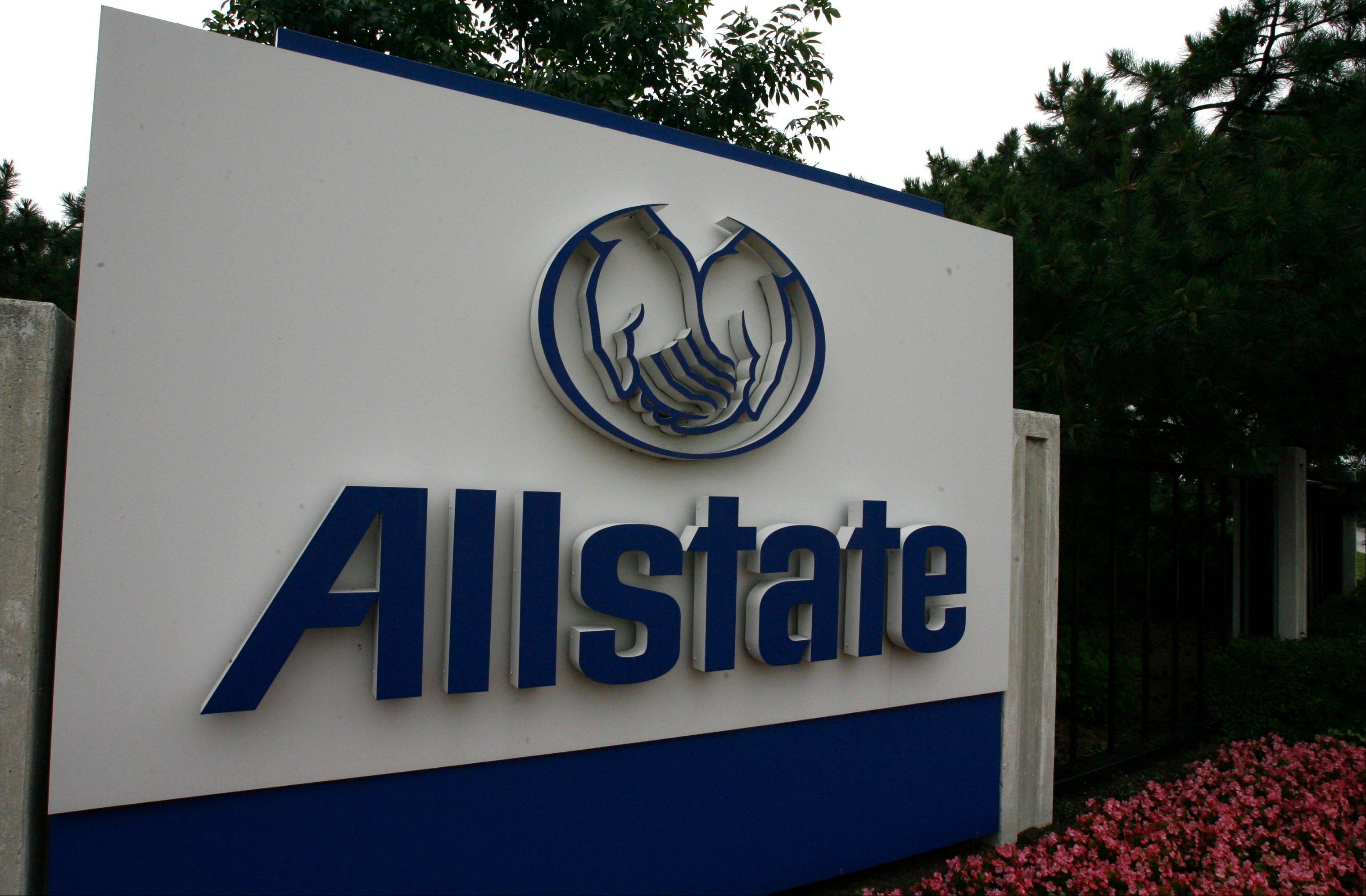 Northbrook-based Allstate said Wednesday its net income more than doubled in the fourth quarter compared with a year ago,