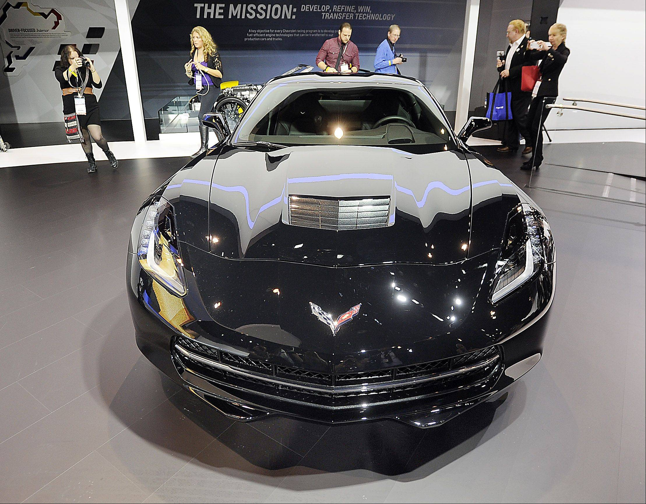 Mark Welsh/mwelsh@dailyherald.comThe 2015 Chevrolet Corvette Stingray promises to get Corvette fans misty-eyed at the Chicago Auto Show.
