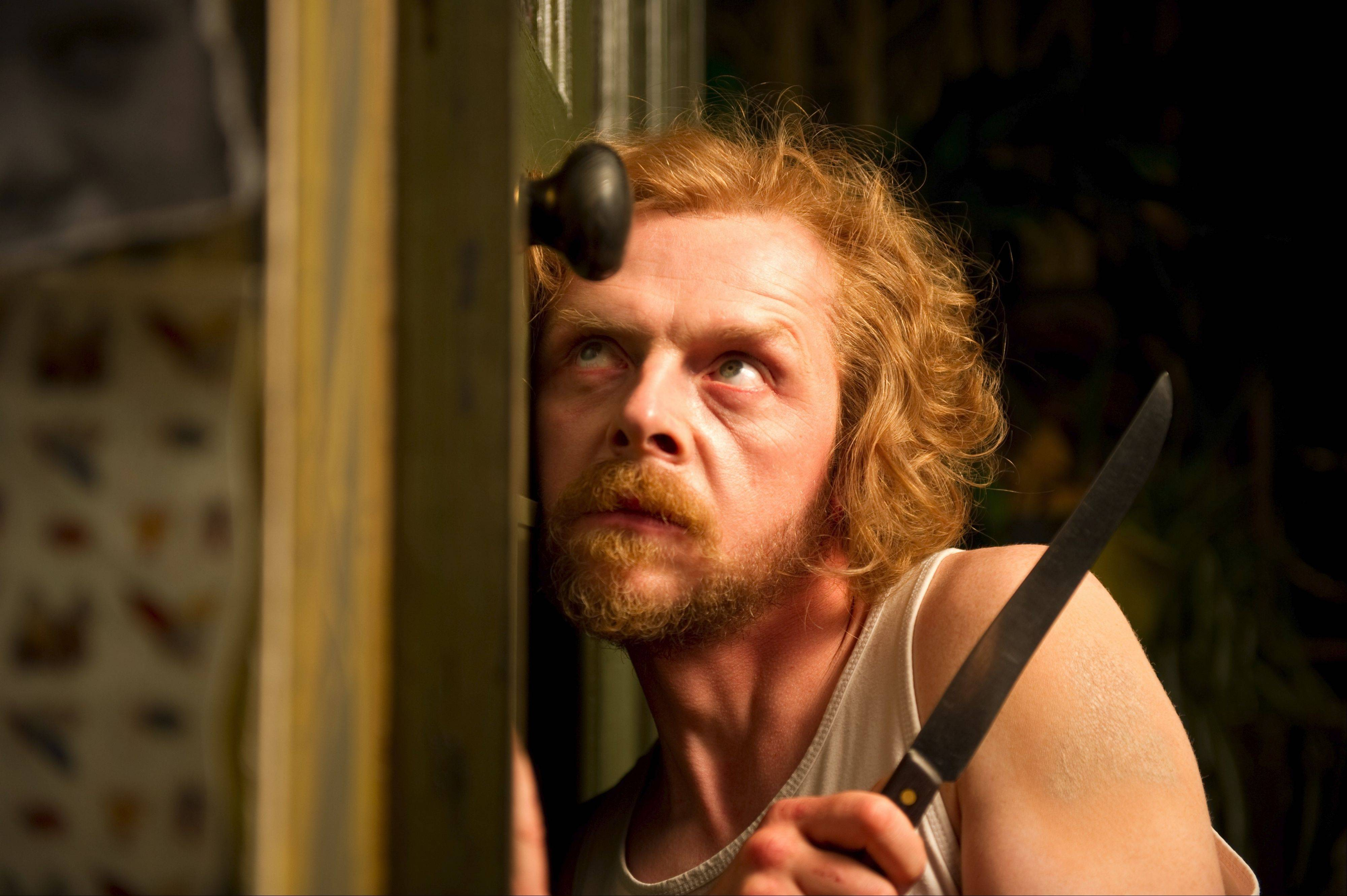 "Simon Pegg struggles to keep his comic edge in the dreary ""A Fantastic Fear of Everything."""