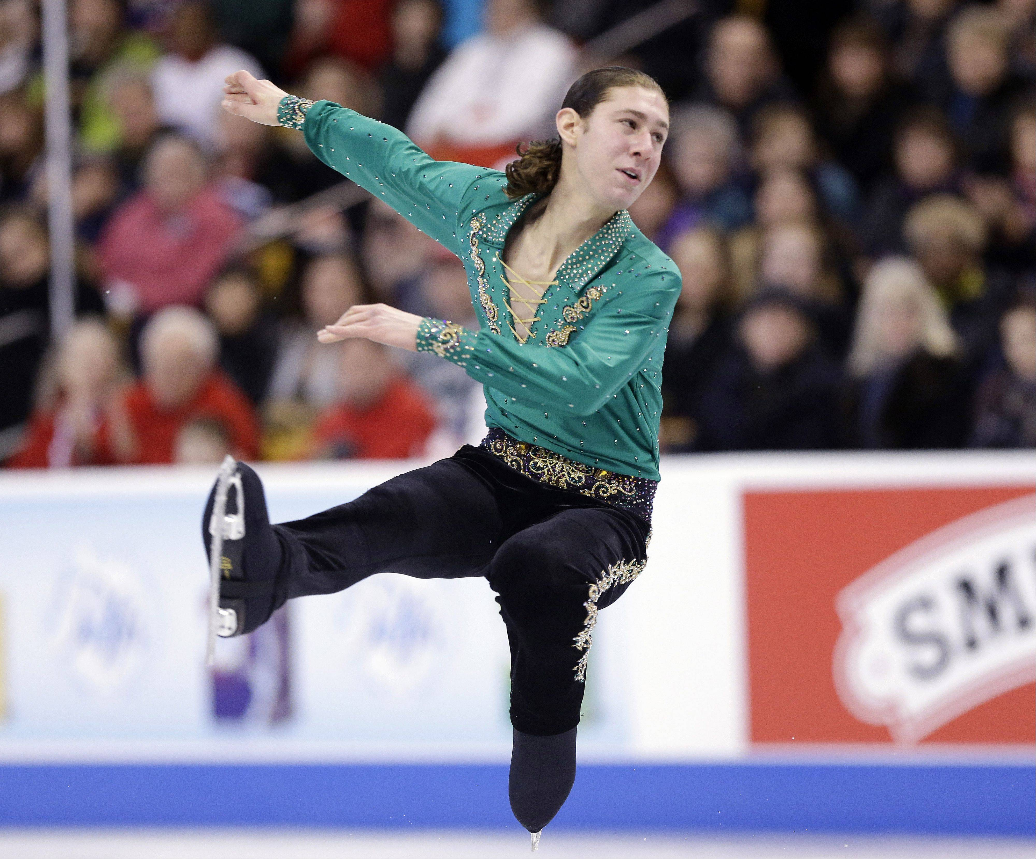 Jason Brown finished second in last month's U.S. Figure Skating Championships in Boston to secure his spot in Sochi.
