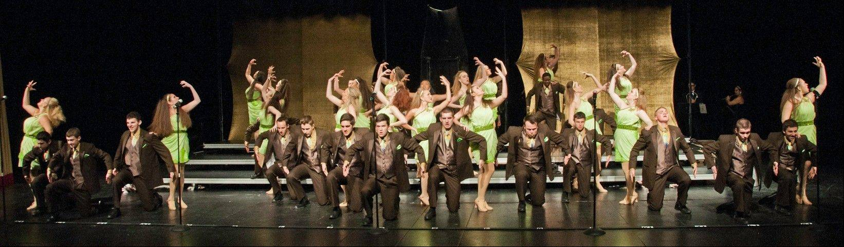 The Buffalo Grove High School Expressions Show Choir will present its next competition preview performance at 7 p.m. Thursday, Feb. 13.