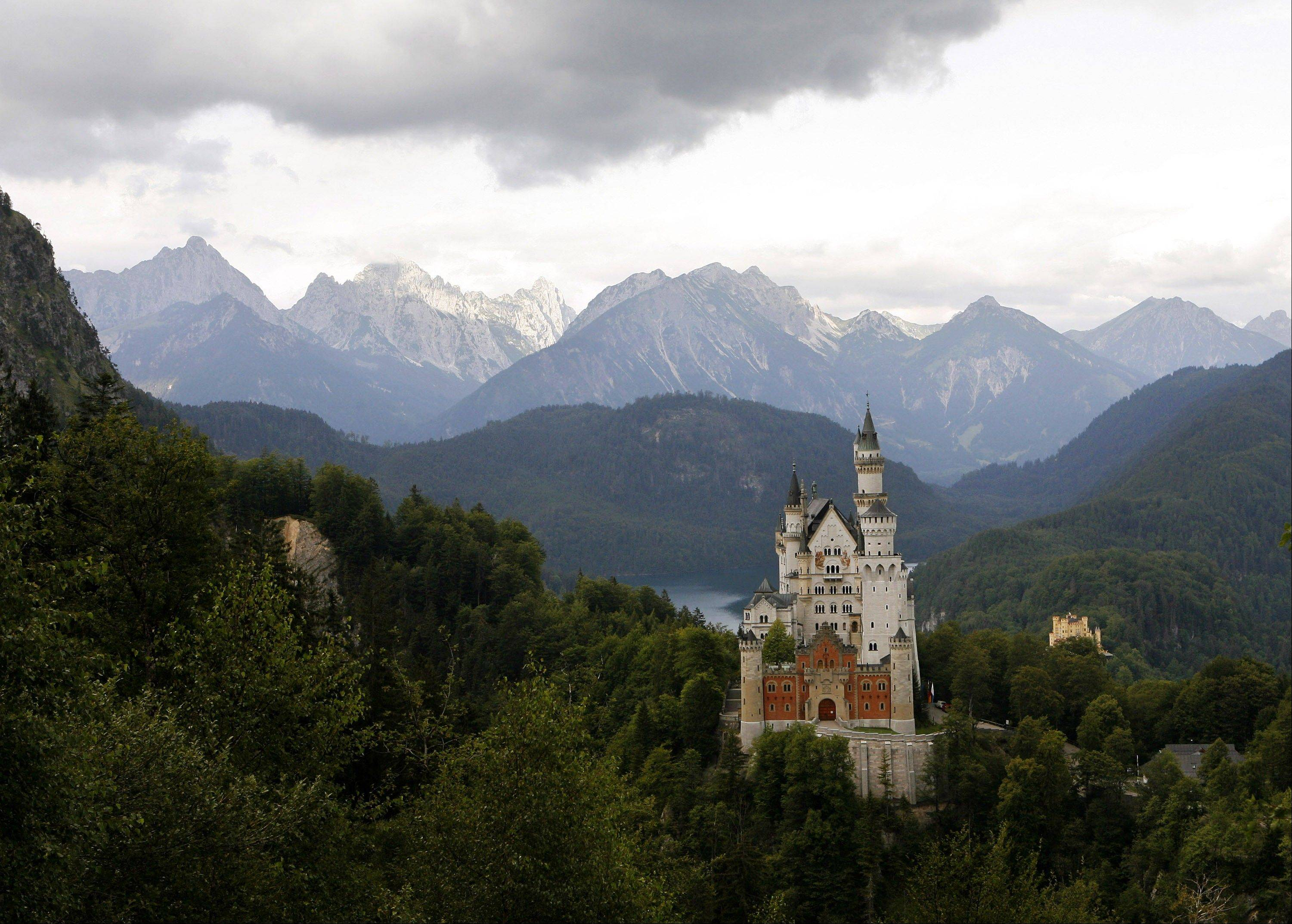 But during World War II, Neuschwanstein Castle near Schwangau, Germany, was the Nazi's hideaway for about 21,000 items stolen from French collectors and records of the looting.