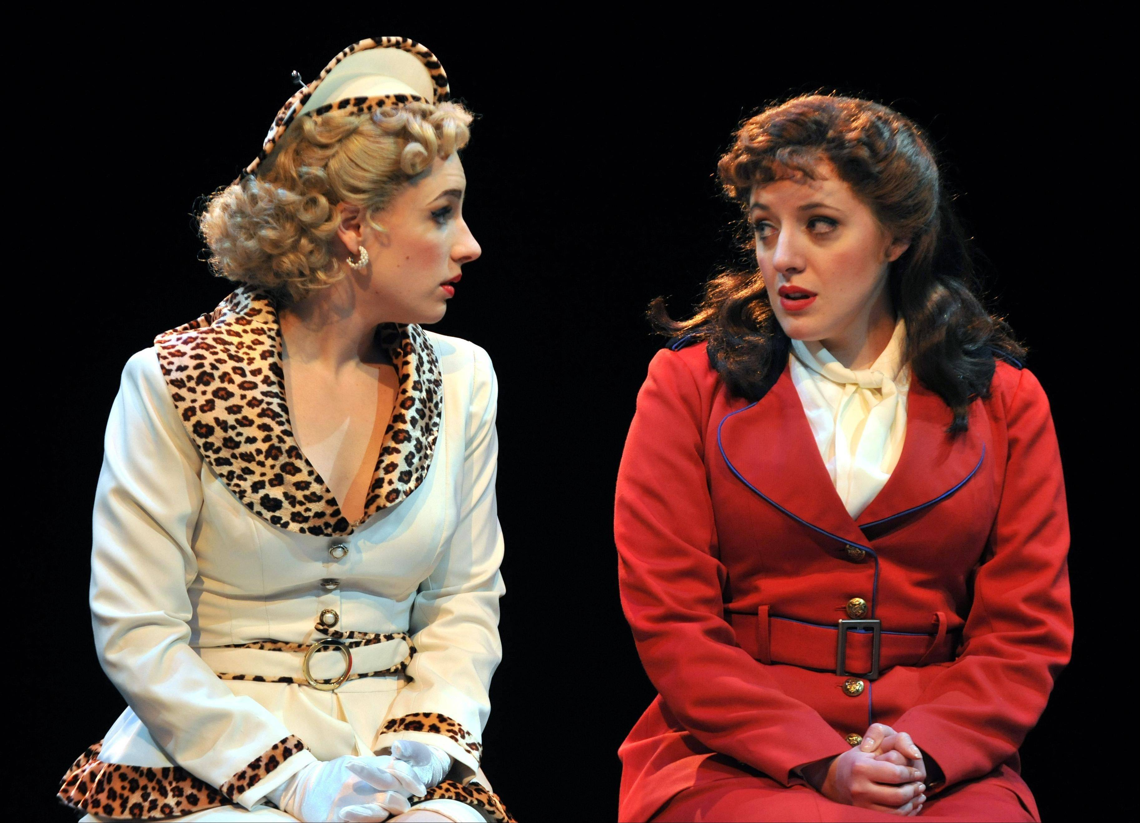 "Now on Broadway, Jessie Mueller, left, starred with her sister Abby in Marriott Theatre's 2011 revival of ""Guys and Dolls."""