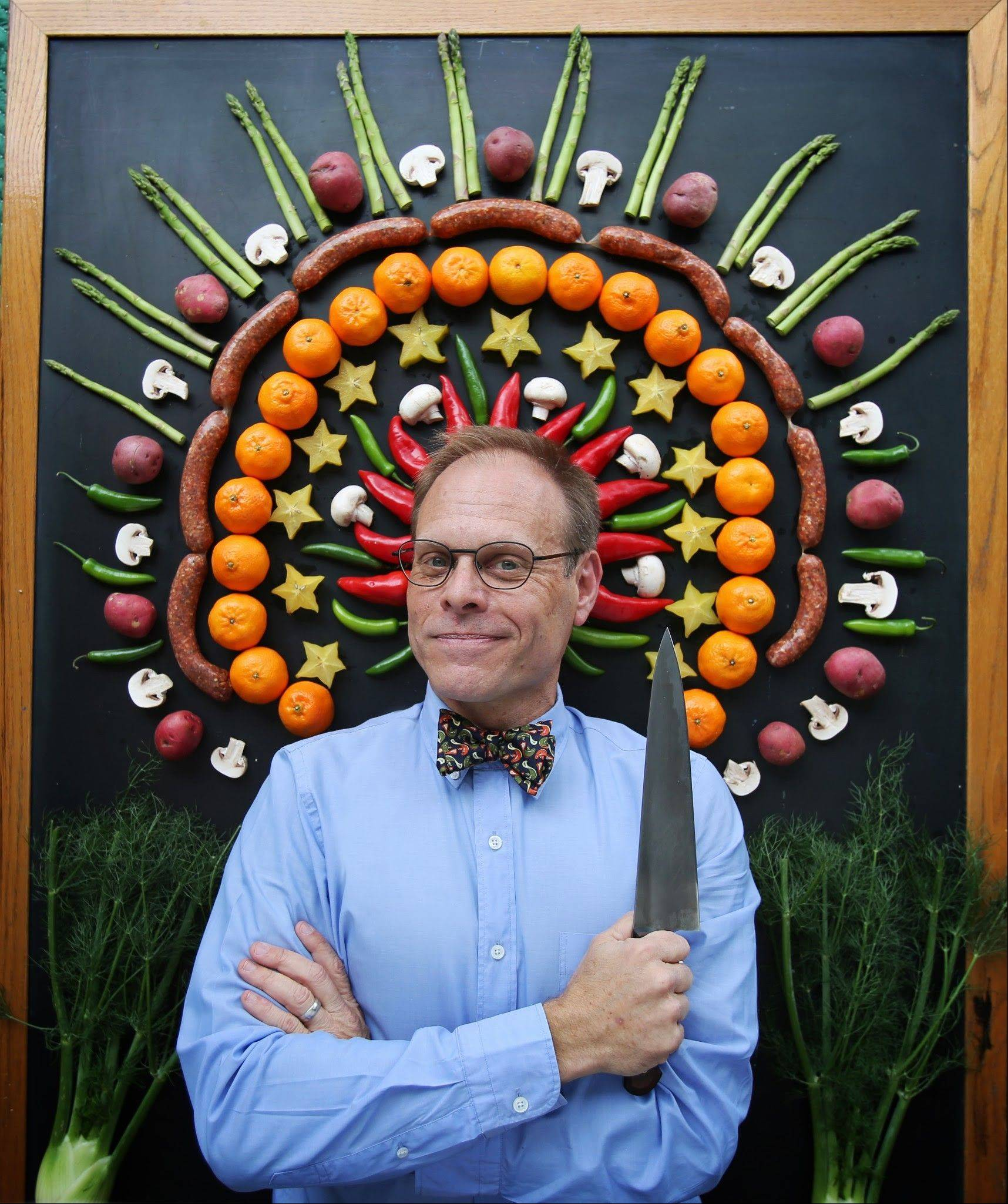 """Alton Brown Live! The Edible Inevitable Tour"" plays the Oriental Theatre in Chicago at 3 and 8 p.m. Saturday, Feb. 8."