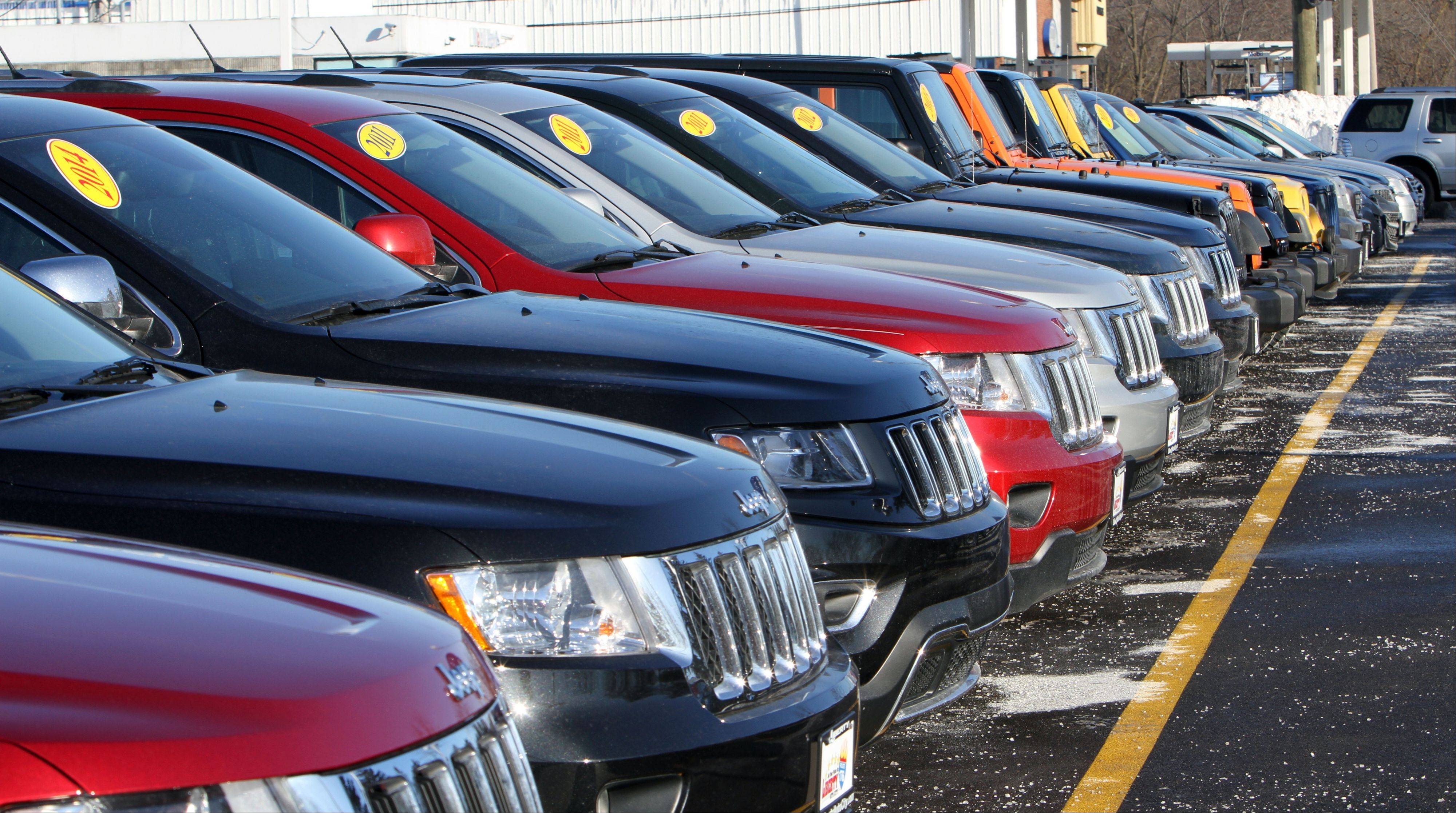 In addition to new cars and trucks, Liberty Auto City sells pre-owned vehicles in Libertyville.