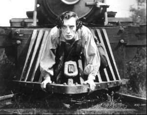 a review of the general a movie by buster keaton Buster keaton plays johnny gray, a southern railroad engineer who loves his train engine, the general, almost as much as he loves annabelle lee (marion mack) when the opening shots of the civil.
