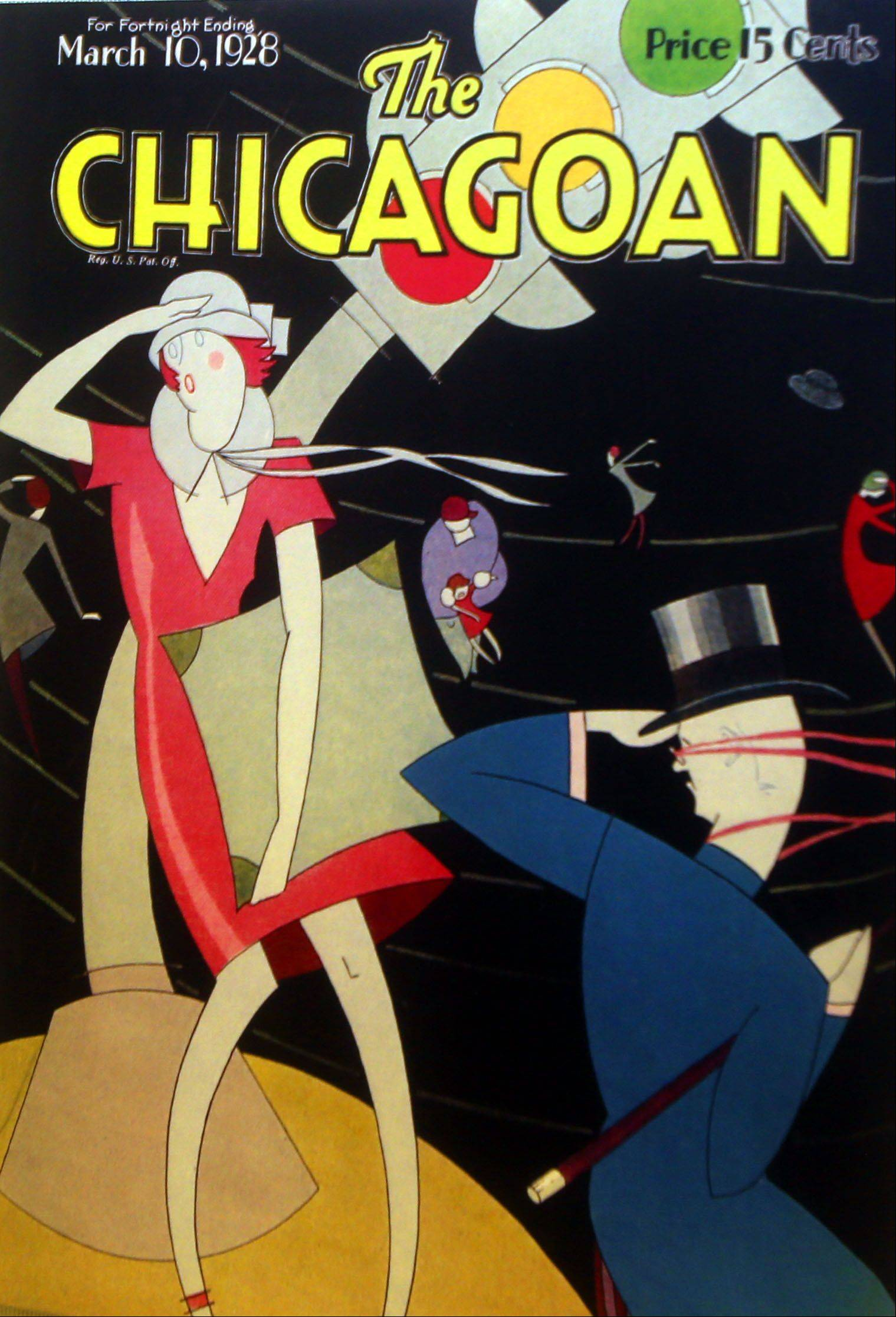 "The Chicagoan Magazine from 1928 is on display in a new exhibit titled ""Fashion Accessories: In Vogue � and Out,"" at the DuPage County Historical Museum in Wheaton."