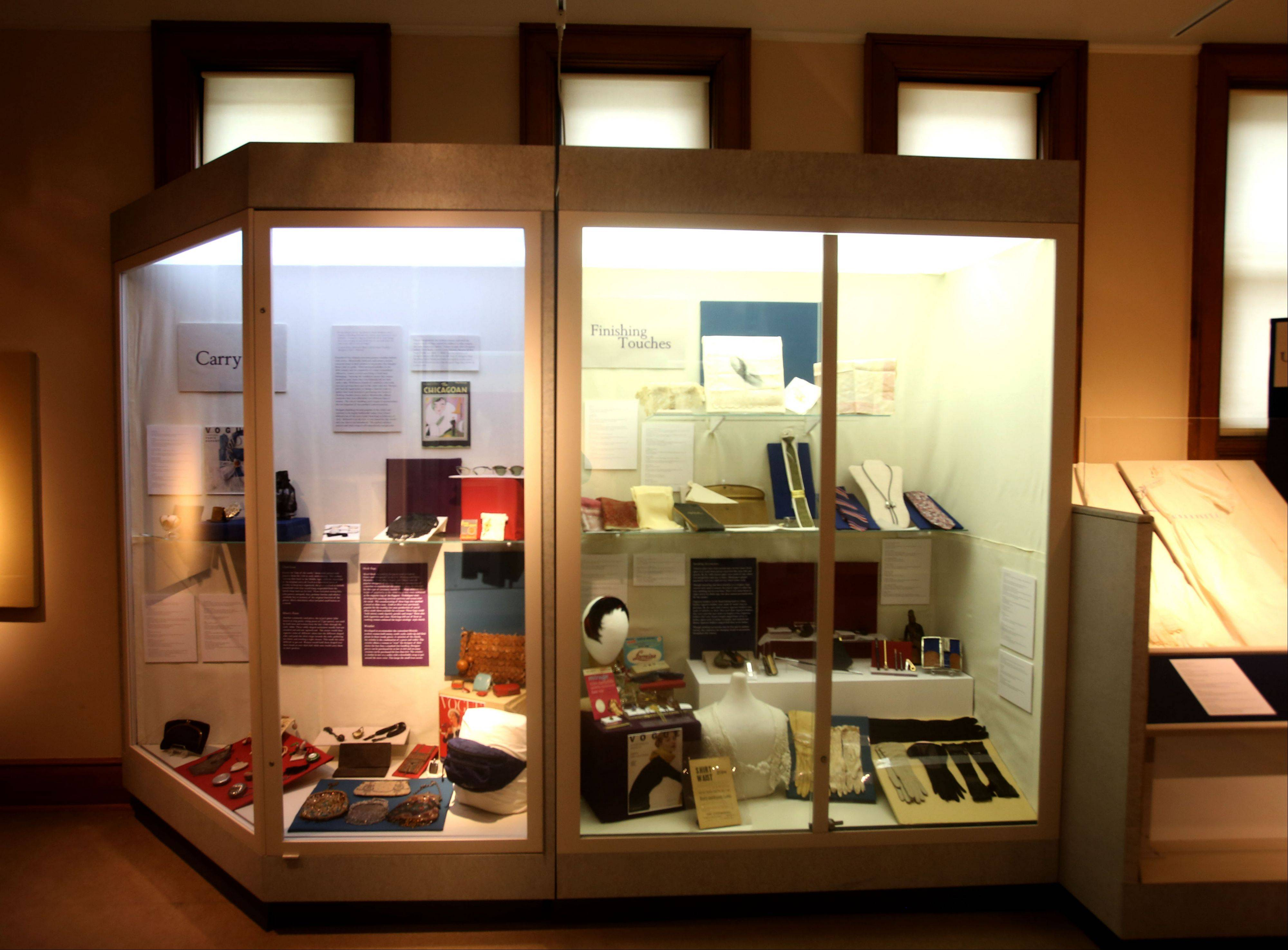 """Fashion Accessories: In Vogue � and Out"" is a new exhibit at the DuPage County Historical Museum in Wheaton."