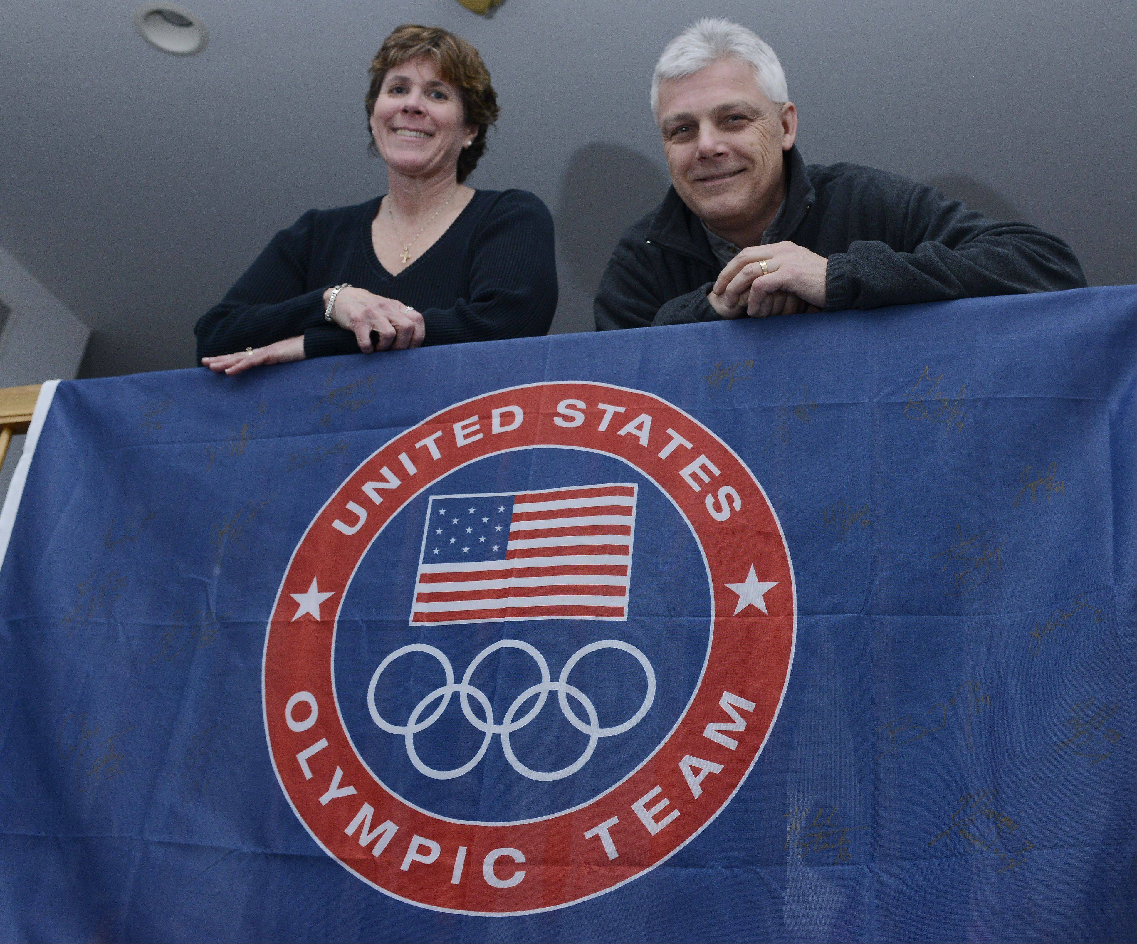 Patti and Tom Bozek of Buffalo Grove, parents of Olympic hockey player Megan Bozek, will be in Sochi for the opening ceremony of the Olympic Games and attend all of Megan's games.
