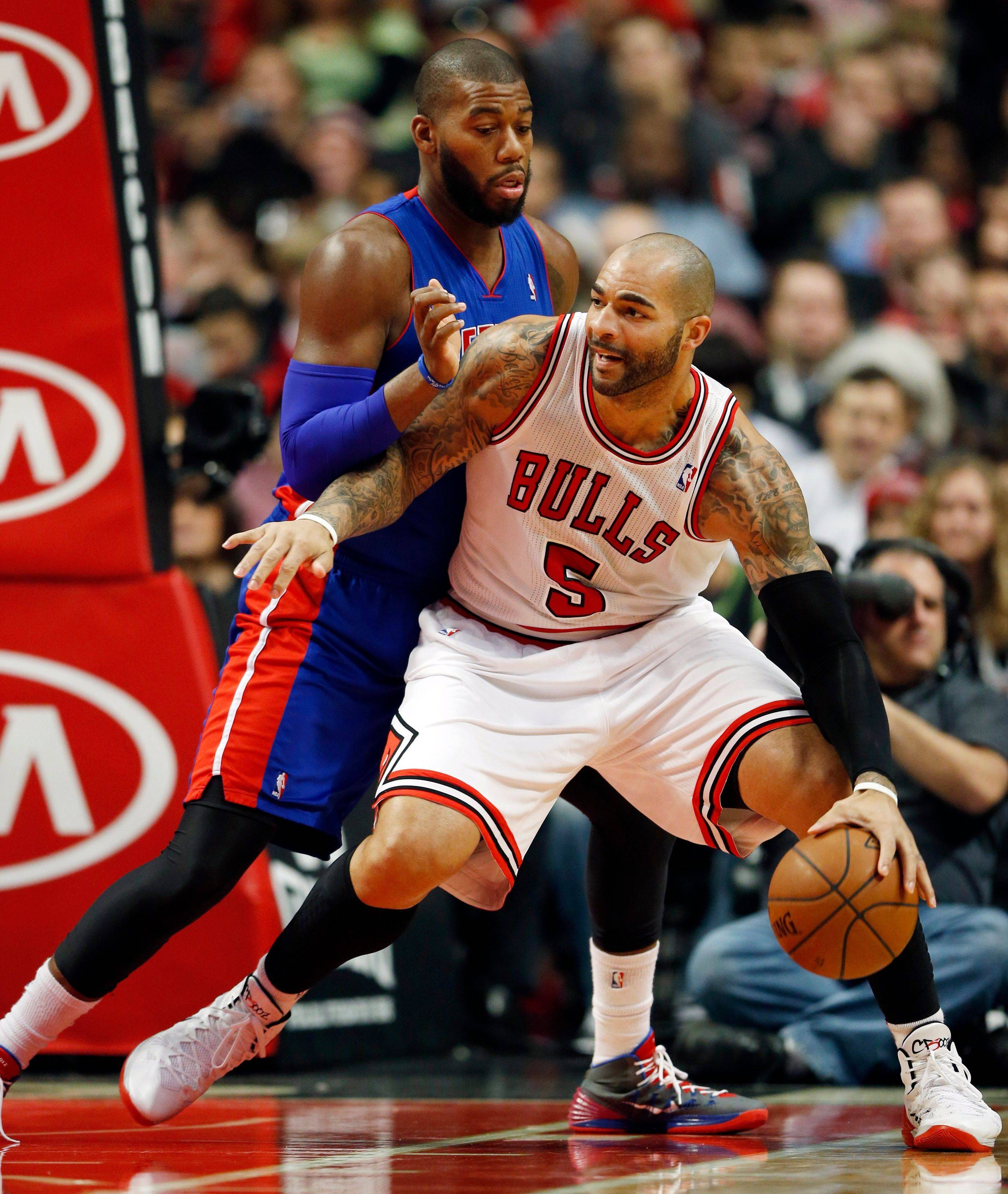 Carlos Boozer probably won't play today against the Lakers.