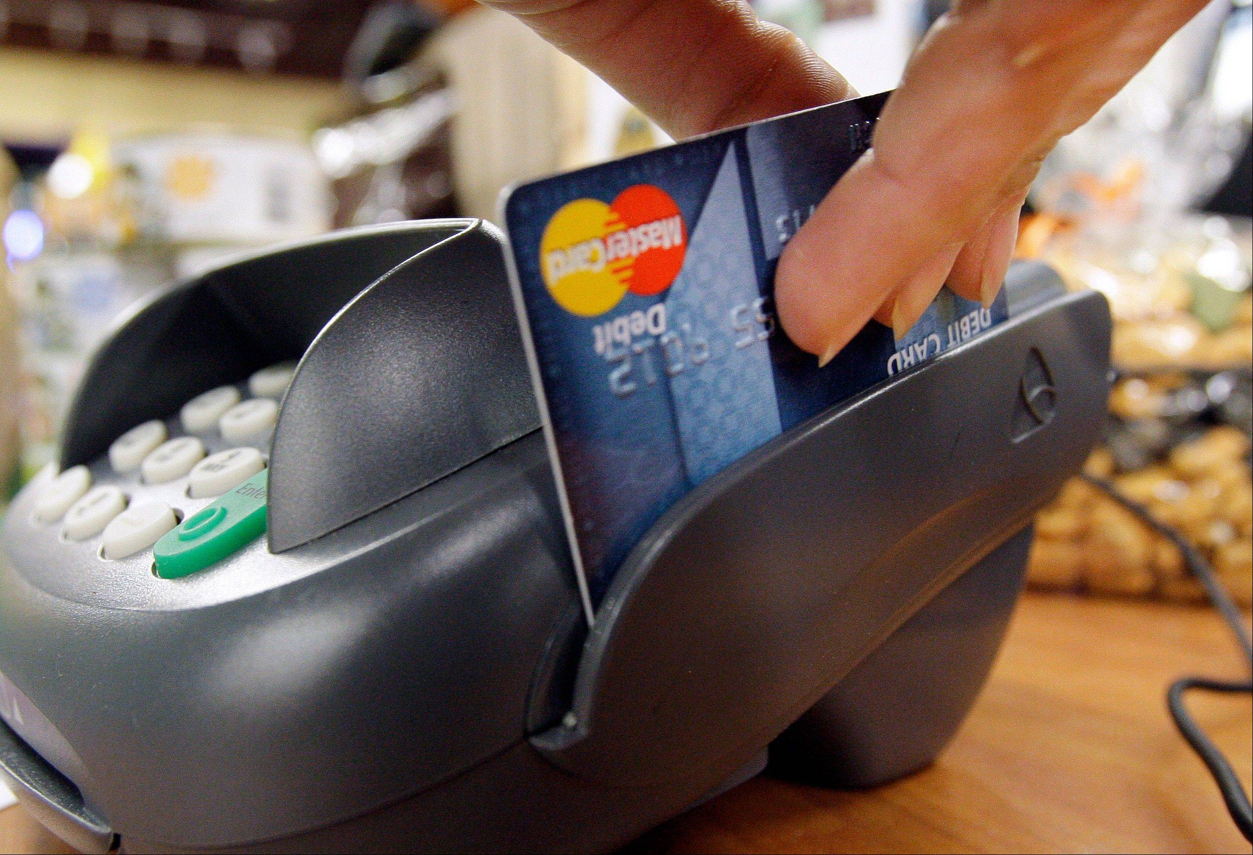 Before you whip out your debit card, consider this: if some crafty thief hacks the store terminal and goes on a shopping spree using your data, you could be held responsible for $500 in charges. That's because debit cards do not share the same consumer protections as credit cards.