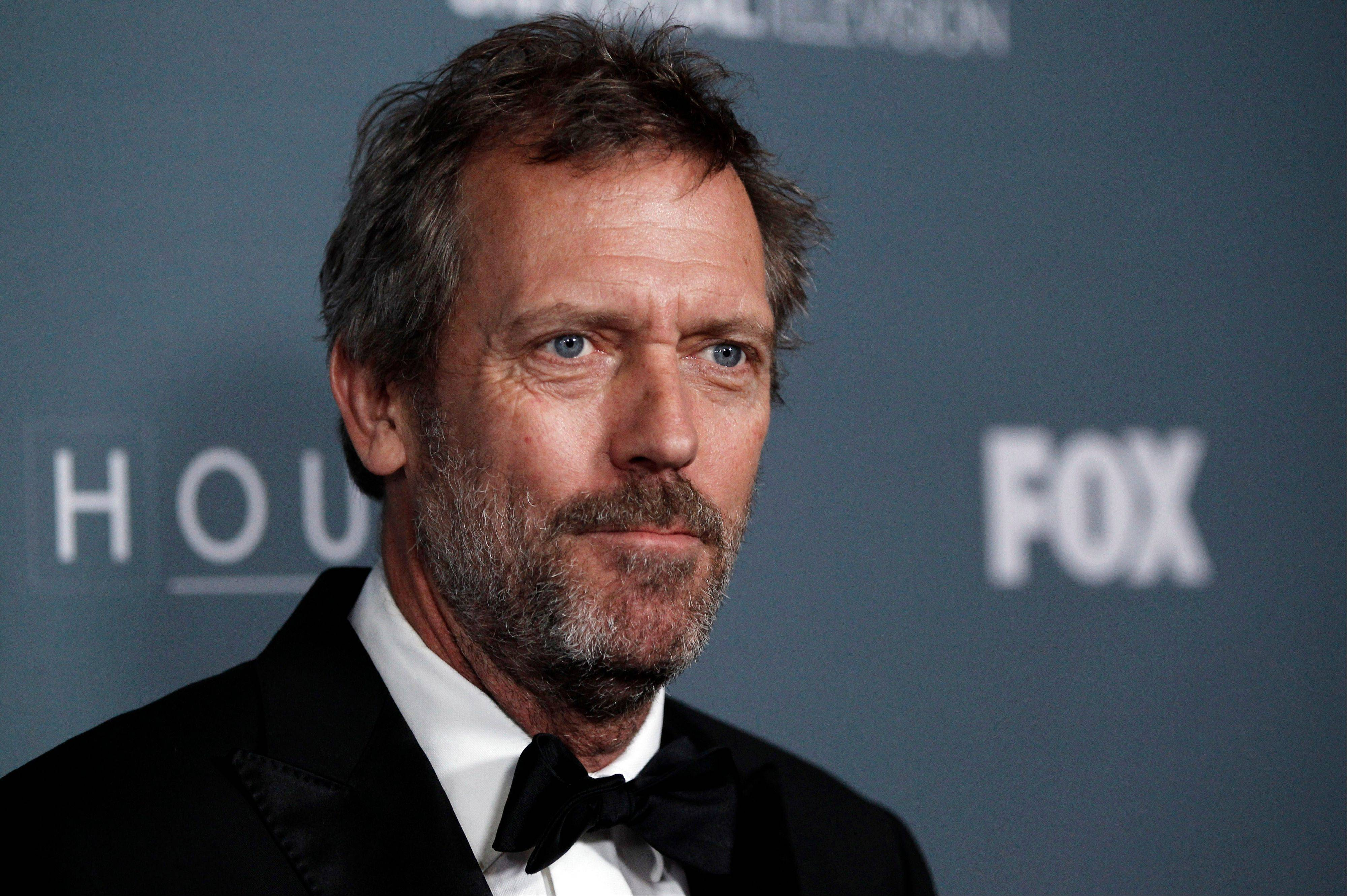 British actor Hugh Laurie played the eponymous House in the medical drama TV series.