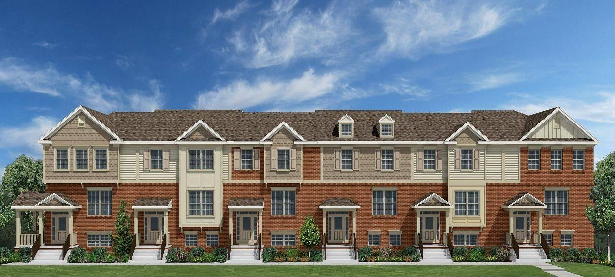 The Courtyards of Glen Ellyn, a townhouse community Orleans Homes has taken over from another builder, will reopen for sales April 1.