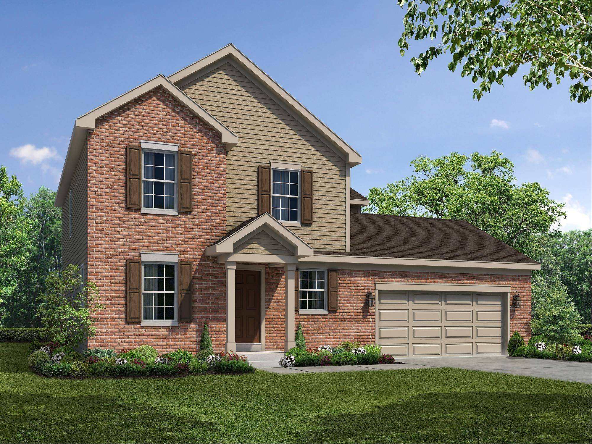 William Ryan Homes, which offers this Fordham model, is about to open three new communities in Barrington, Algonquin and Plainfield.