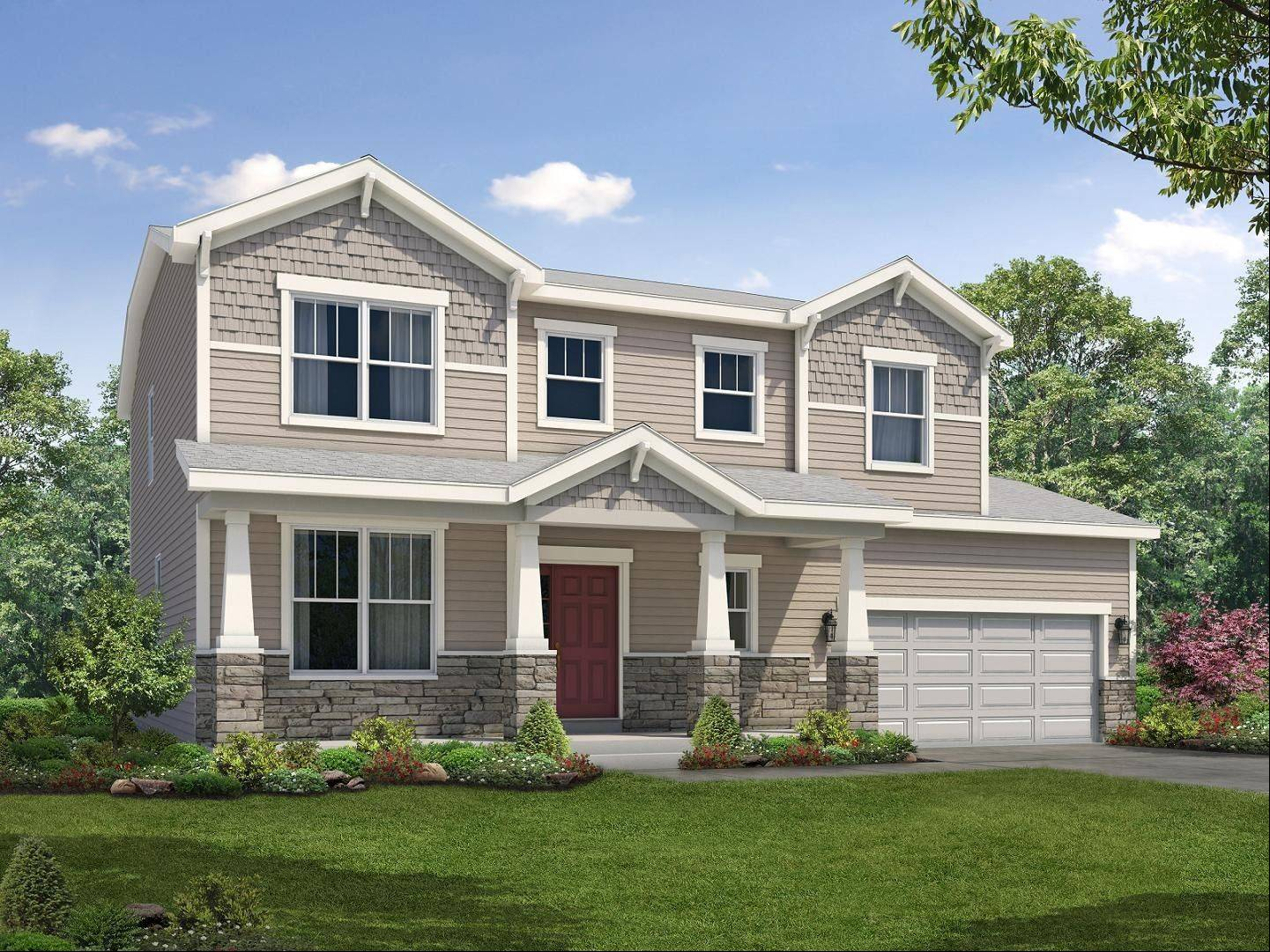 William Ryan Homes, based in Schaumburg, offers this Sheridan model.