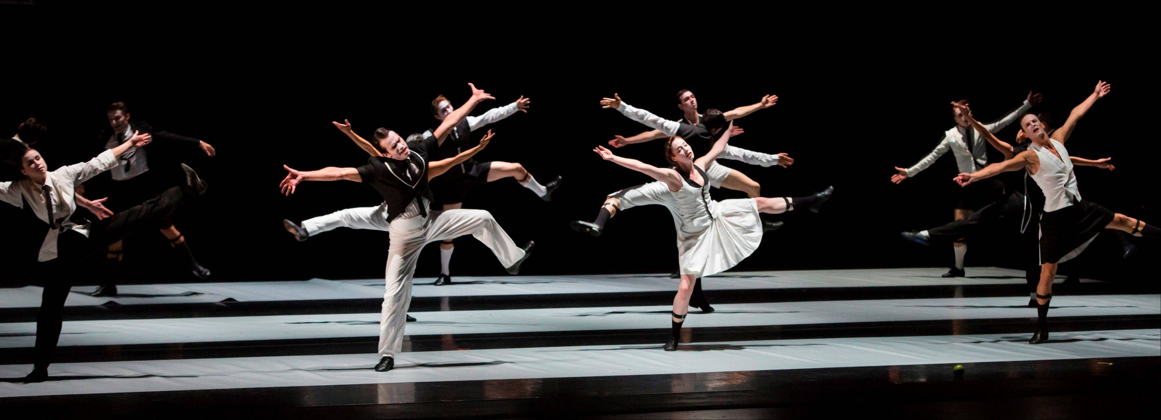 "The Joffrey Ballet will get your mind out of the snow and onto the stage with ""Contemporary Choreographers,"" a program of three works that runs for 10 shows only at the Auditorium Theatre, Feb. 12-23."