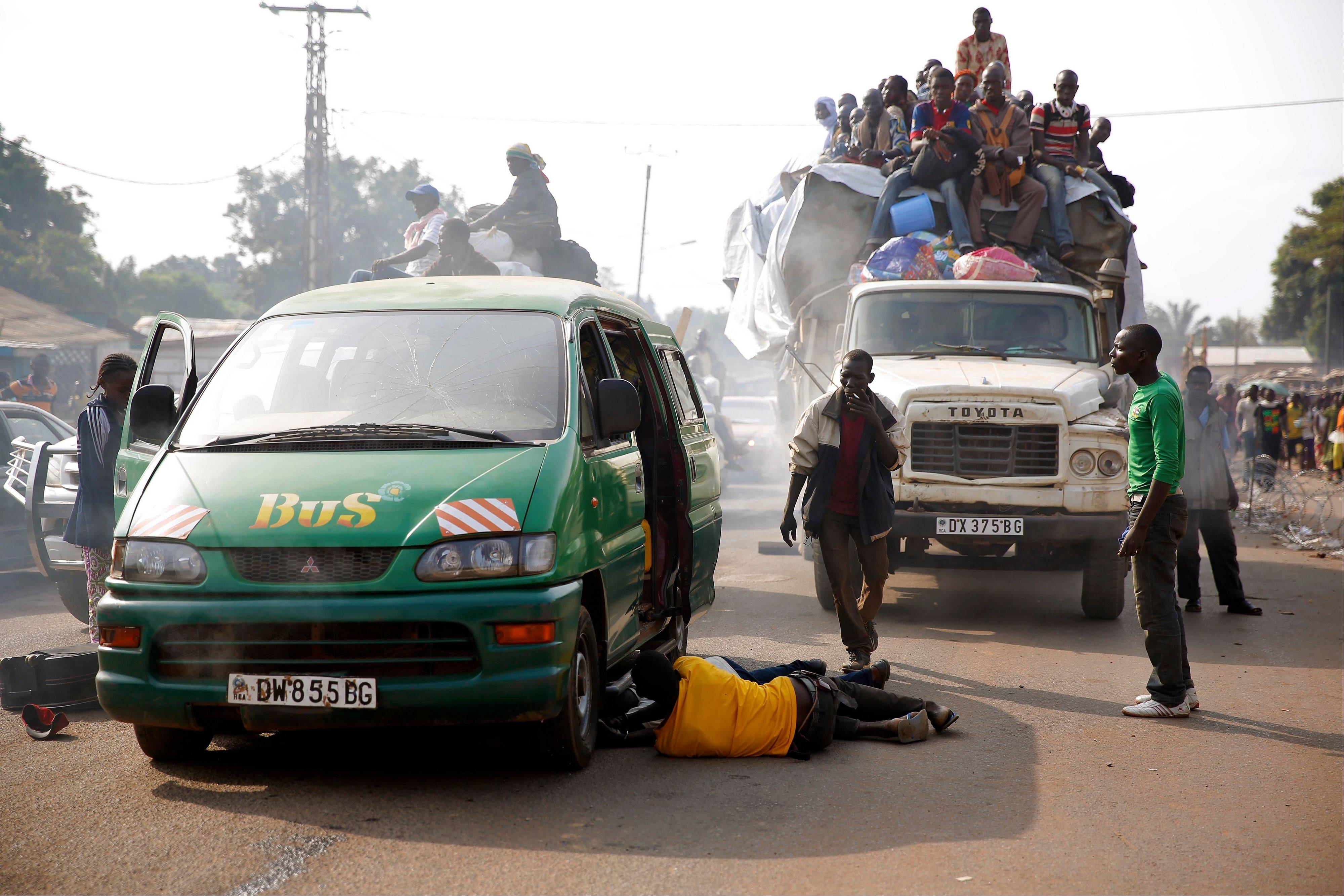 Tit-for-tat violence killed more than 1,000 people in Bangui alone in a matter of days in December. An untold number have died in the weeks that followed, with most of the attacks in Bangui targeting Muslims.