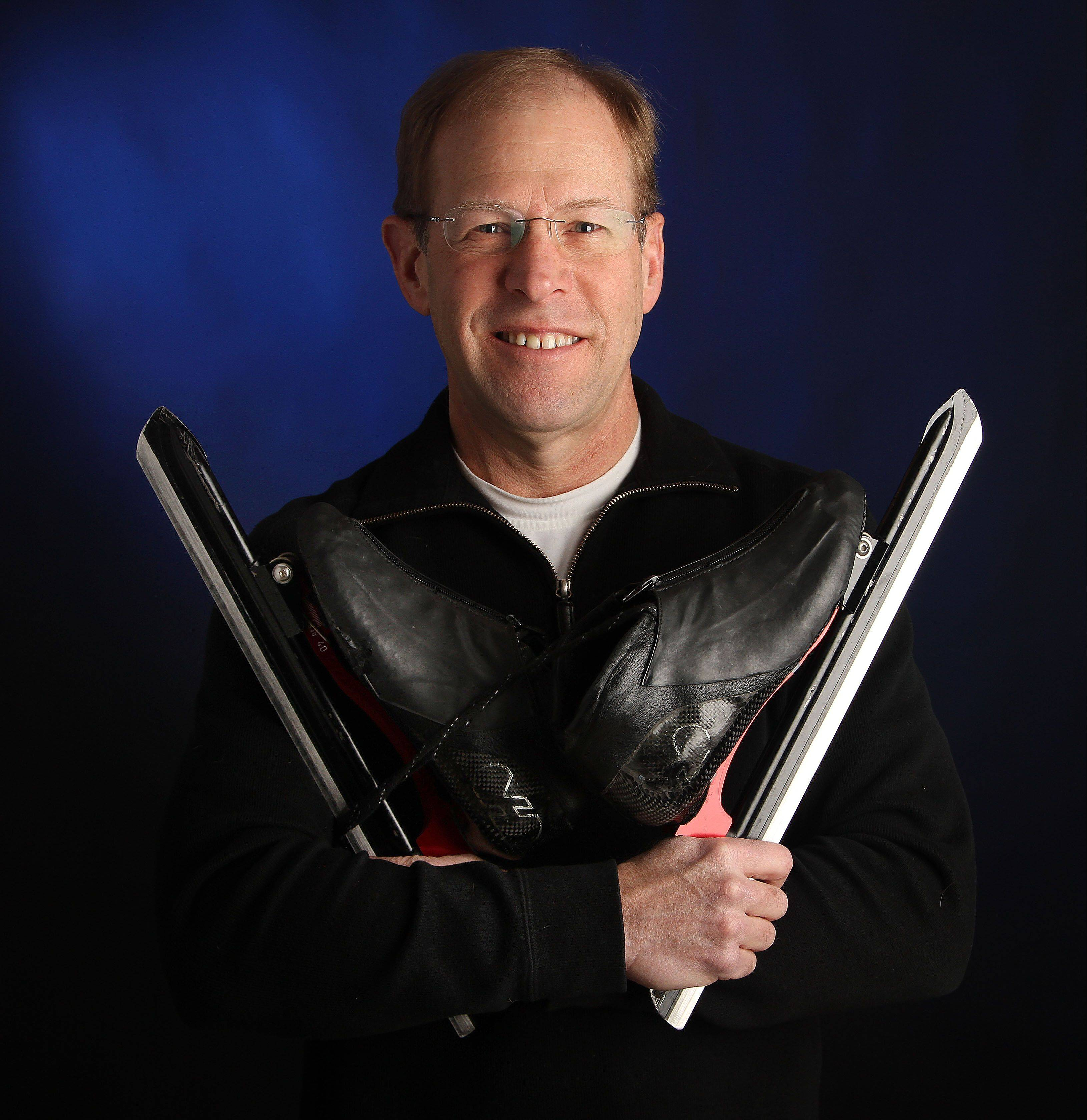Amateur long track speedskater Bruce Conner of Kildeer was a member of the U.S. national team in the 1970s and returned to the sport in 2005.