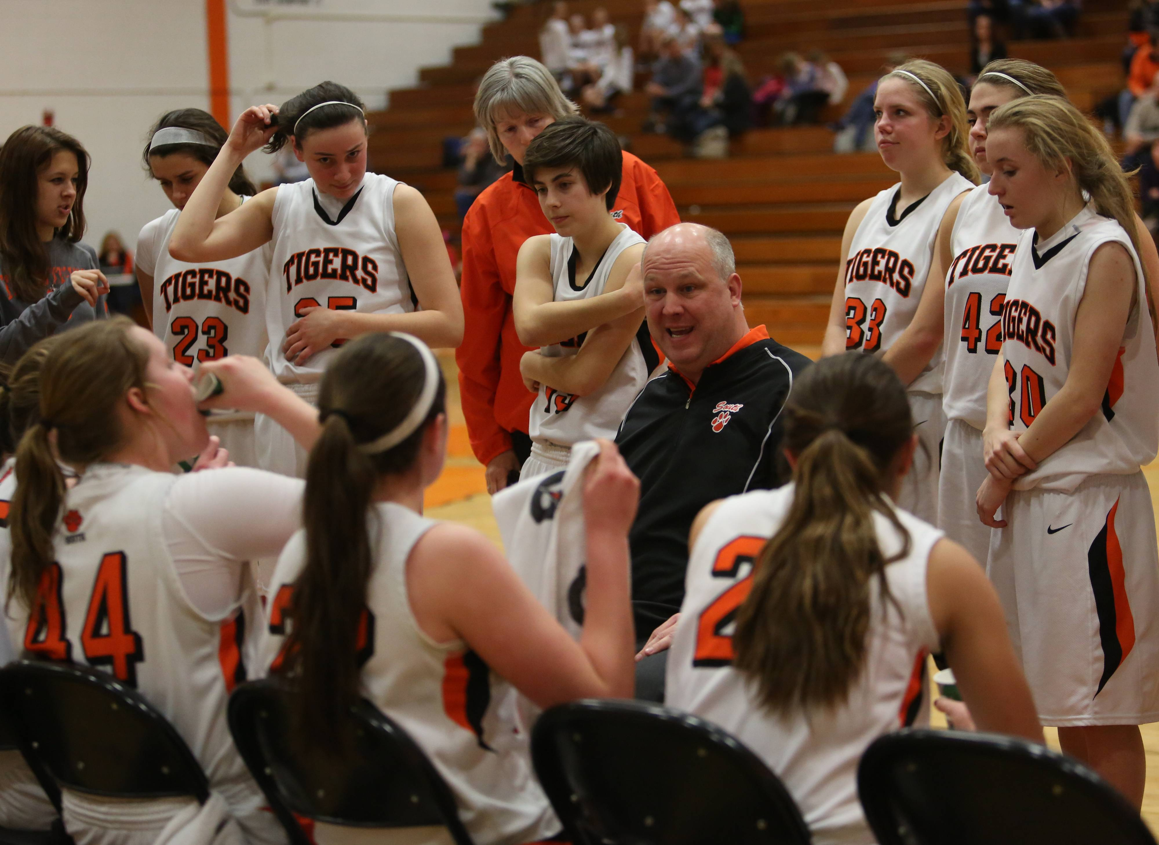 Photos from the West Auroura at Wheaton Warrenville South girls basketball game Monday, Feb. 10.